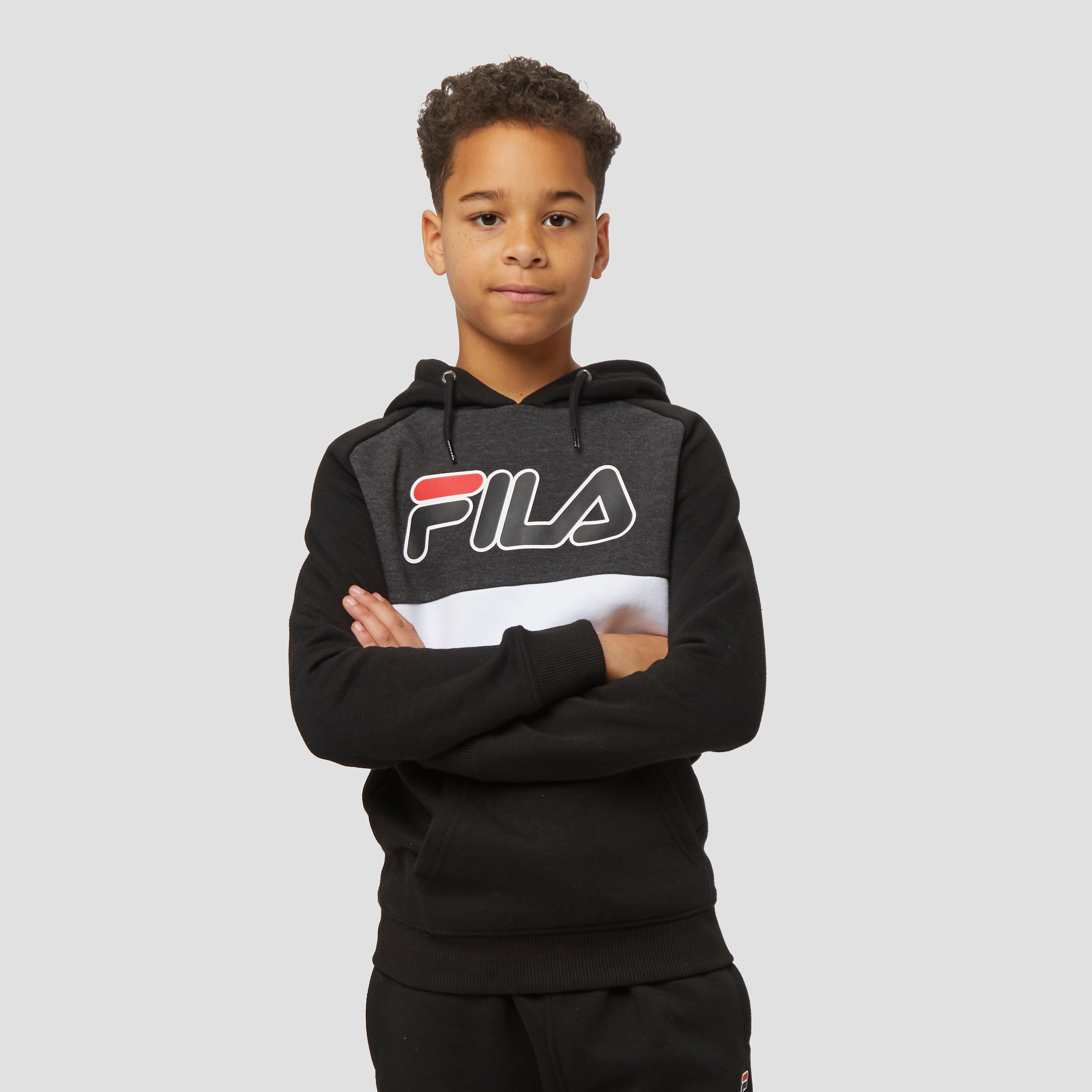 FILA Giovanni trui zwart/grijs kinderen Kinderen