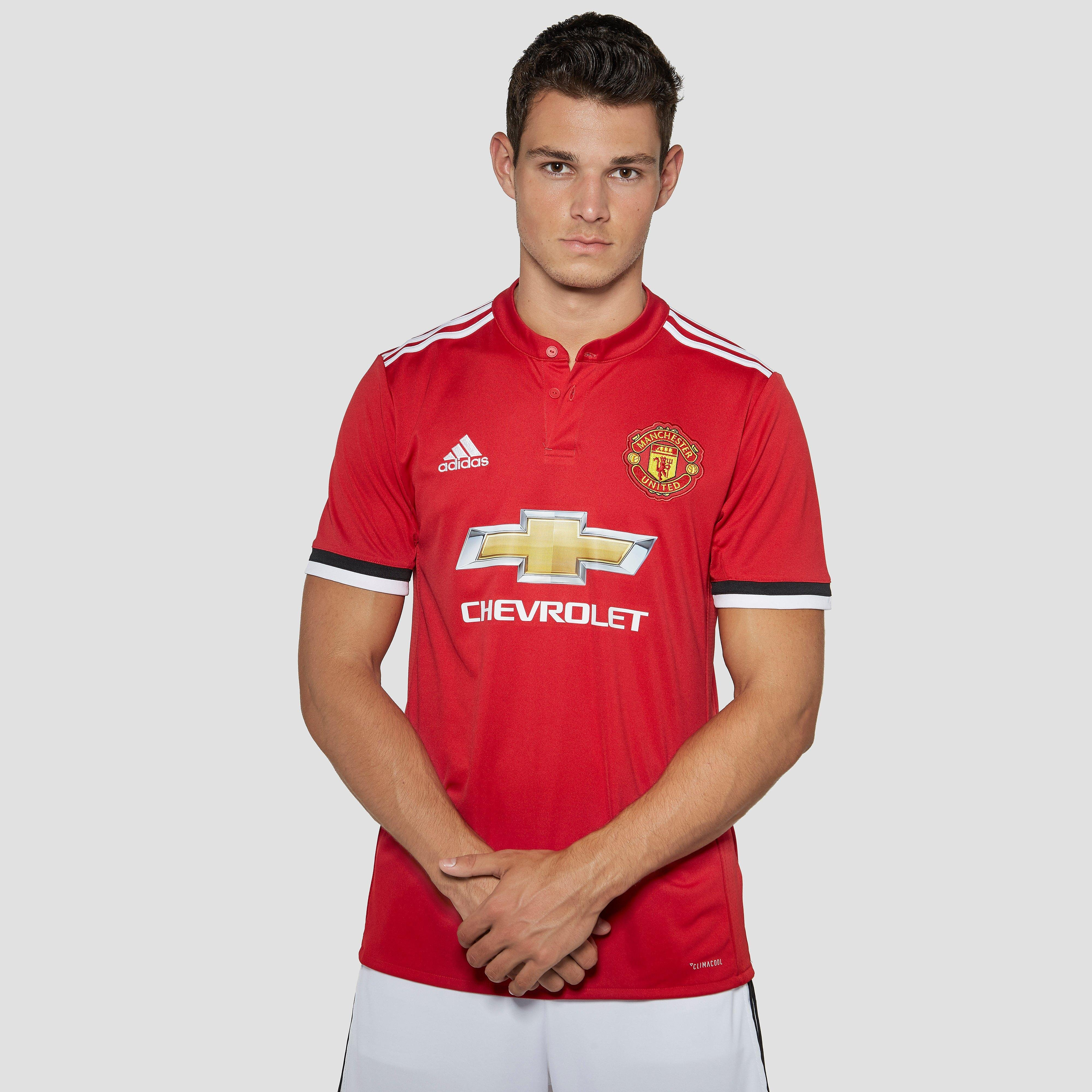 ADIDAS MANCHESTER UNITED FC THUISSHIRT 17/18 ROOD/WIT HEREN