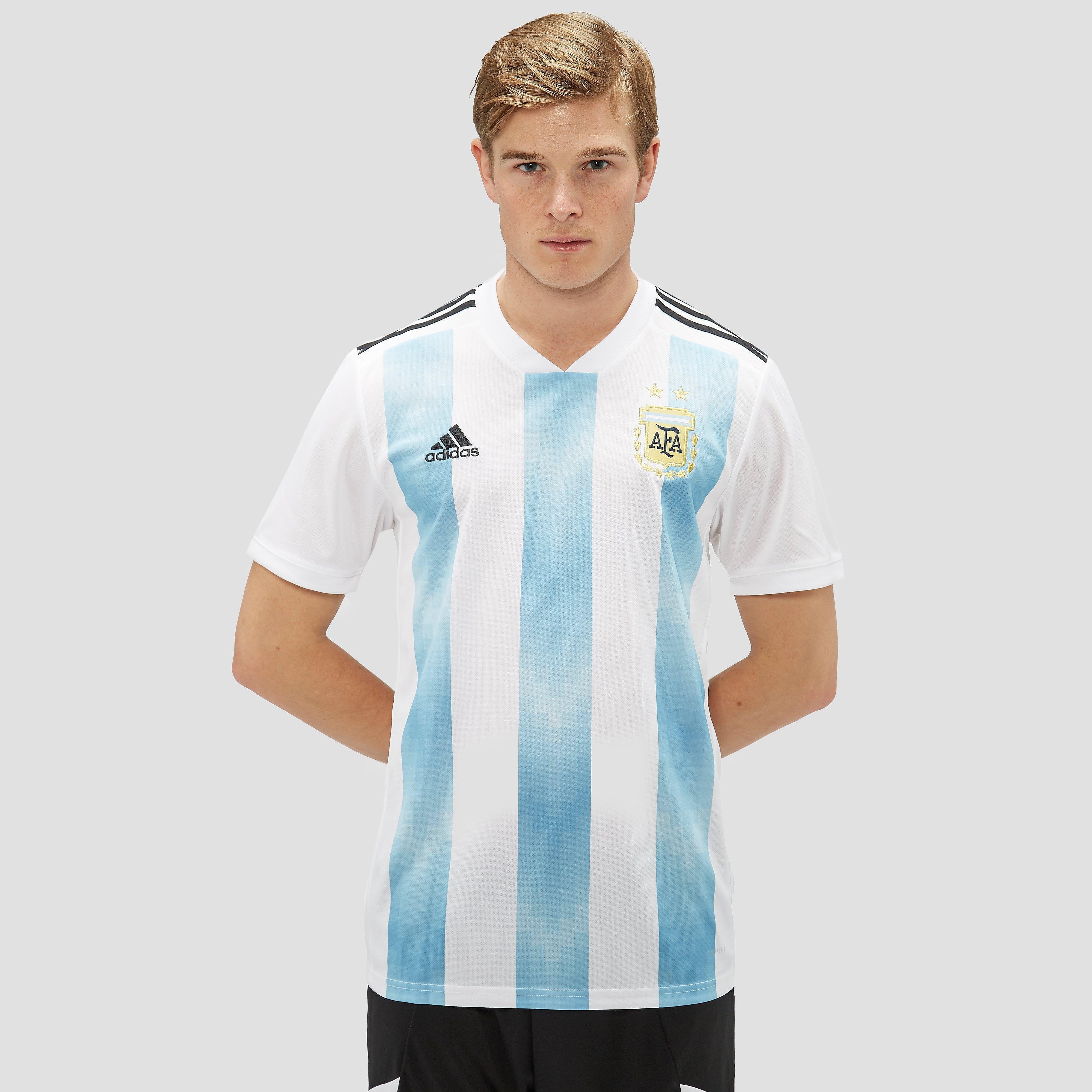 ADIDAS ARGENTINIË THUISSHIRT WIT/BLAUW HEREN