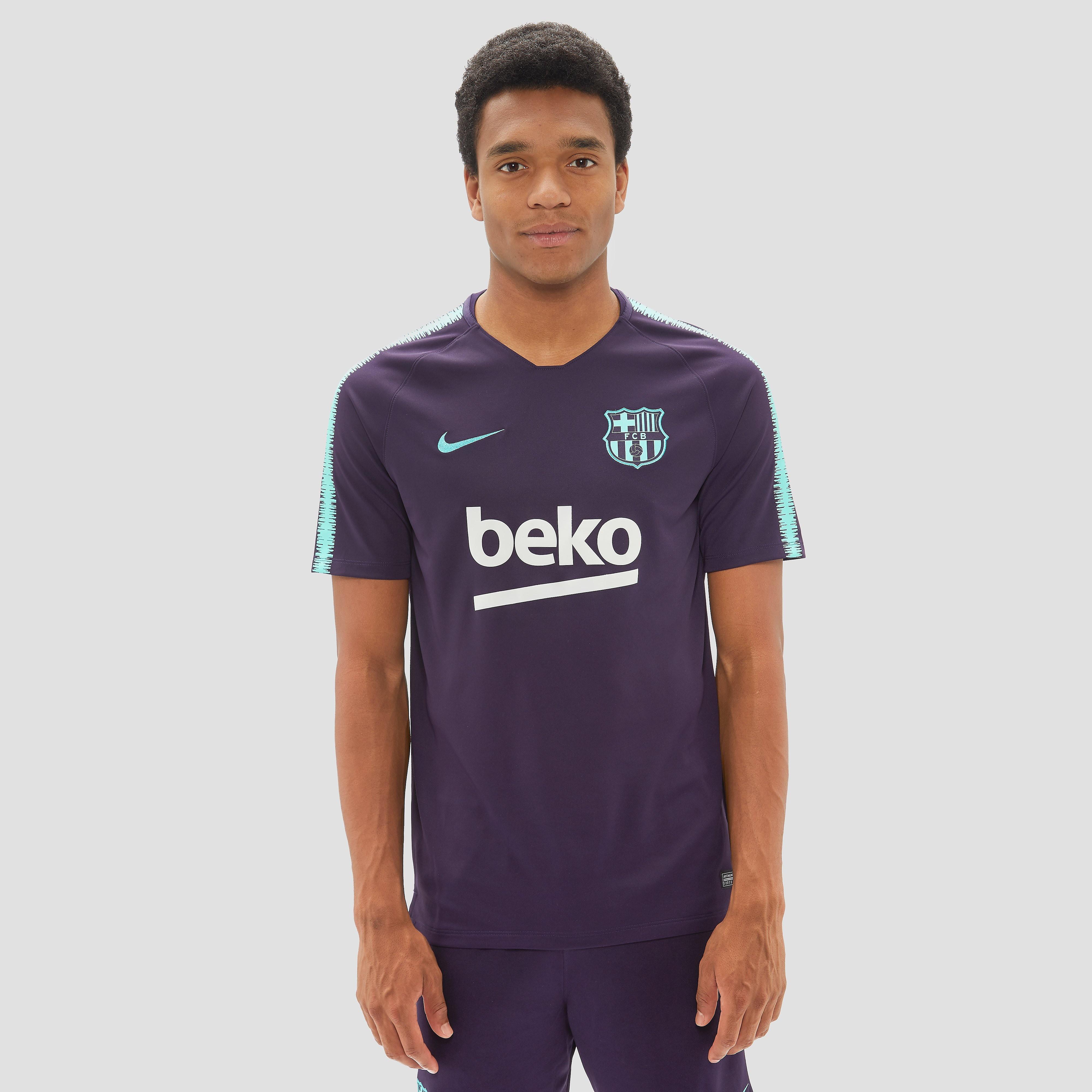 NIKE FC BARCELONA TRAININGSSHIRT 18/19 PAARS HEREN
