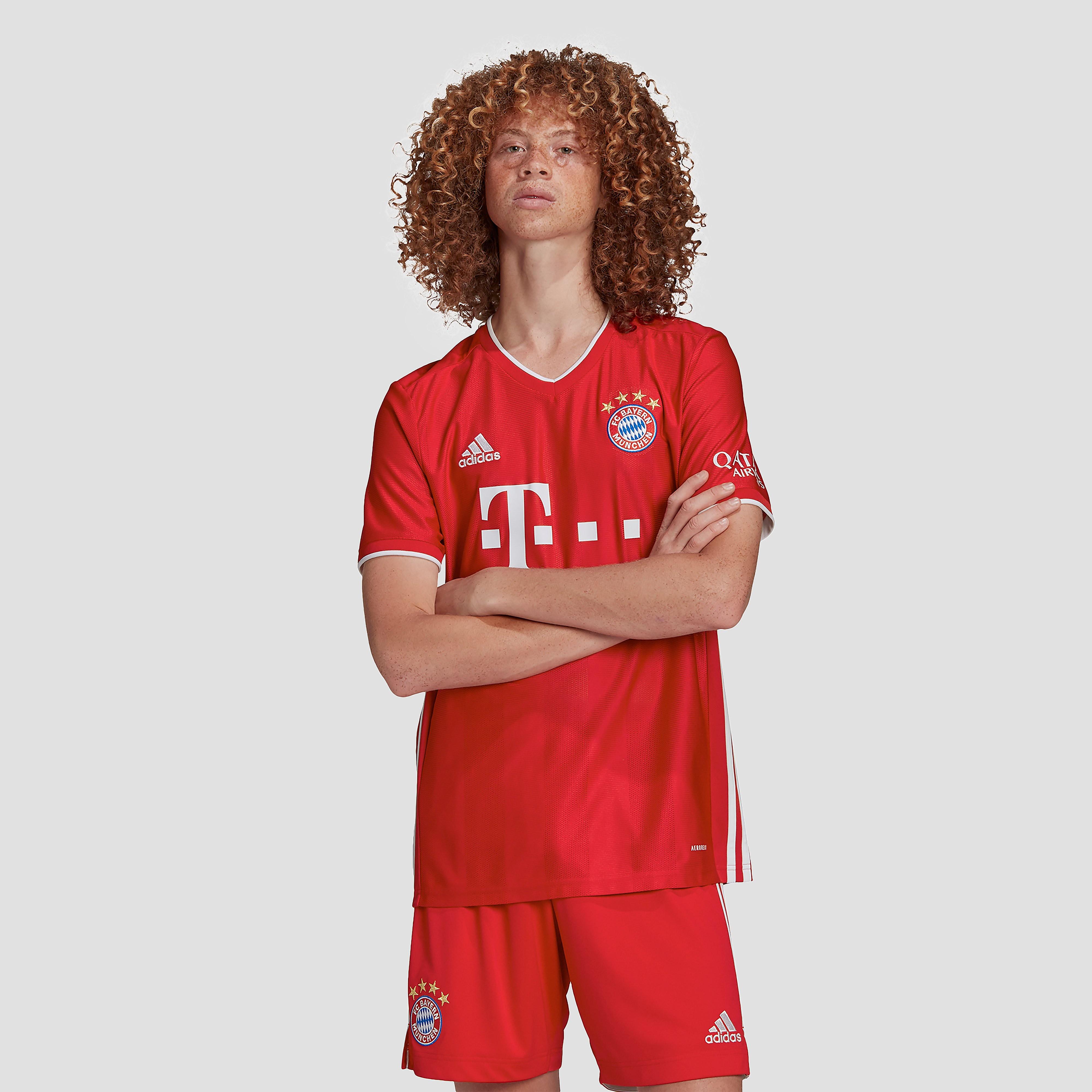 adidas Fc bayern münchen thuisshirt 20/21 rood heren Heren