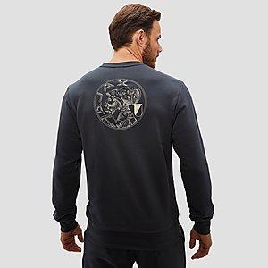 Ajax Heren Sweater Adidas Grijs 1819 YAgAfw