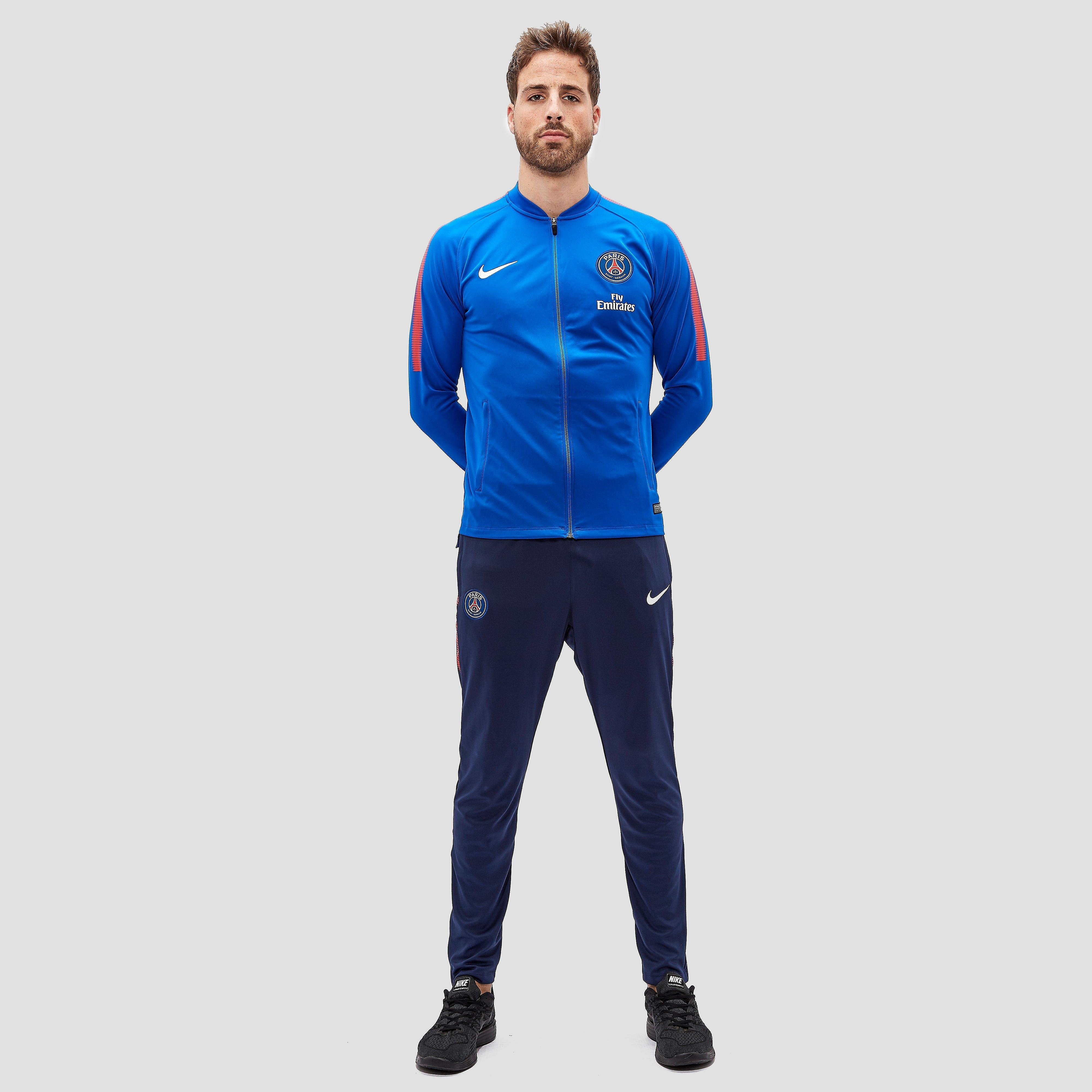 NIKE PSG TRAININGSPAK 17/18 BLAUW HEREN