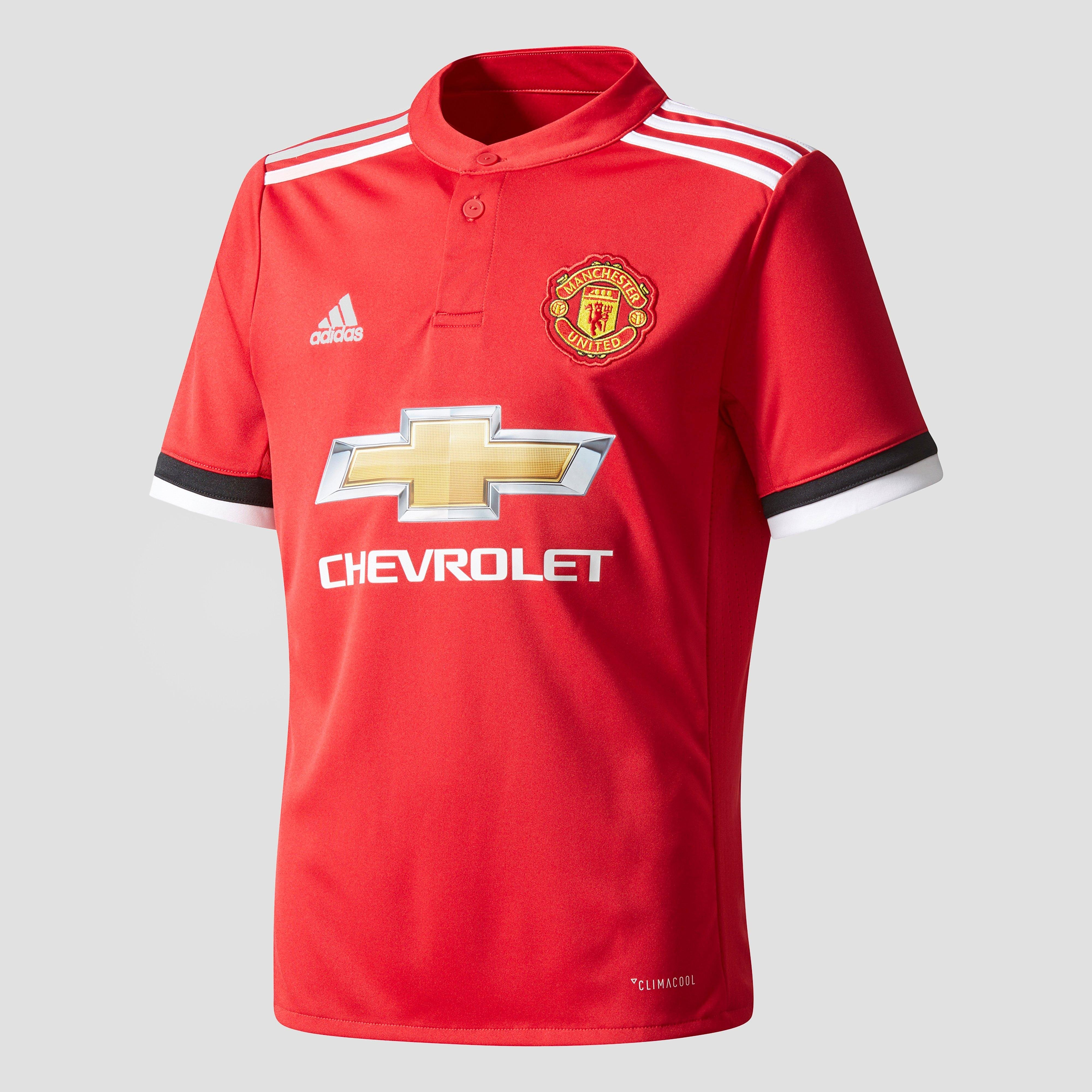 ADIDAS MANCHESTER UNITED FC THUISSHIRT 17/18 ROOD/WIT KINDEREN