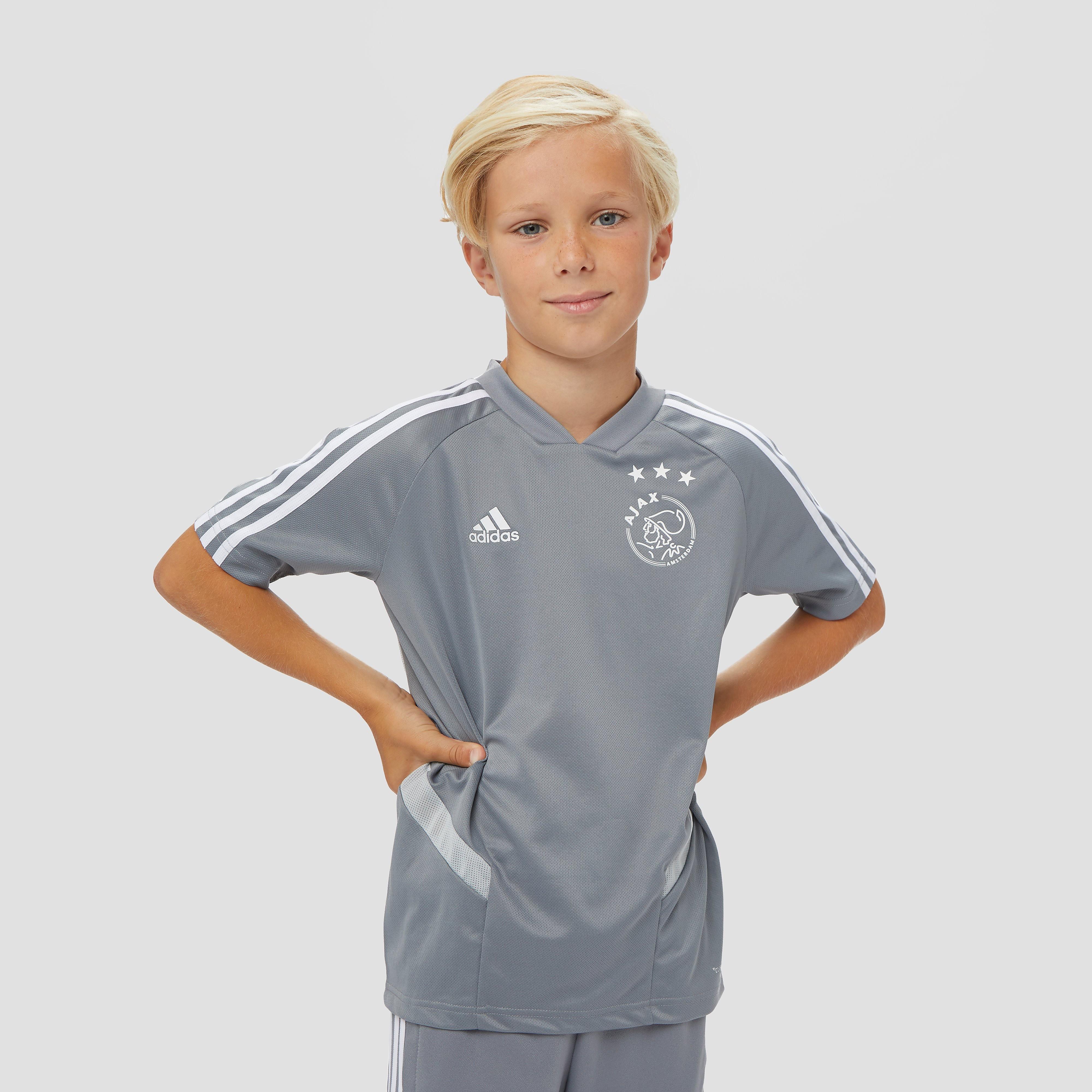 adidas Afc ajax warming-up trainingsshirt 19/20 grijs kinderen Kinderen
