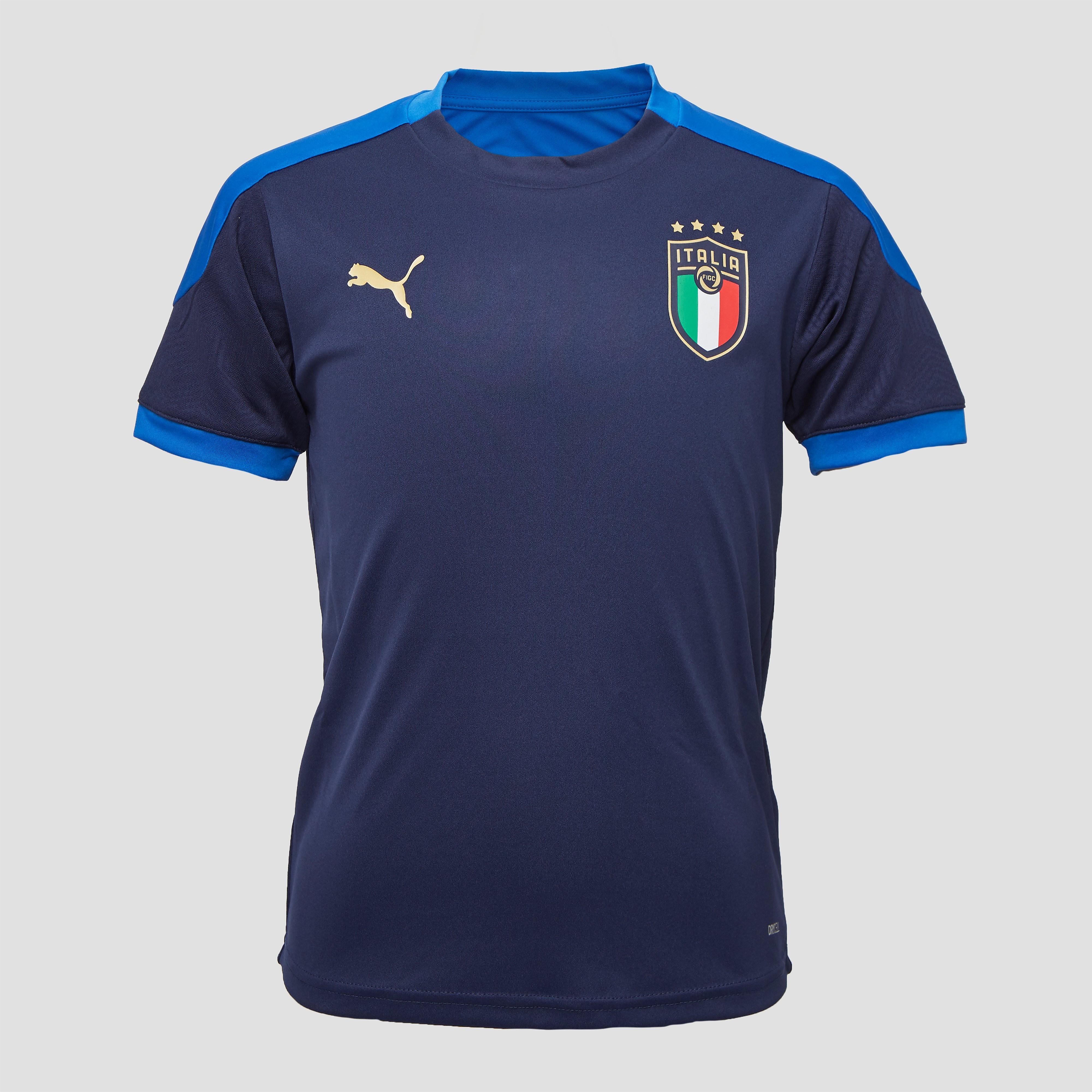 PUMA Uefa euro 2020 figc italië trainingsshirt 20/22 blauw kinderen Kinderen