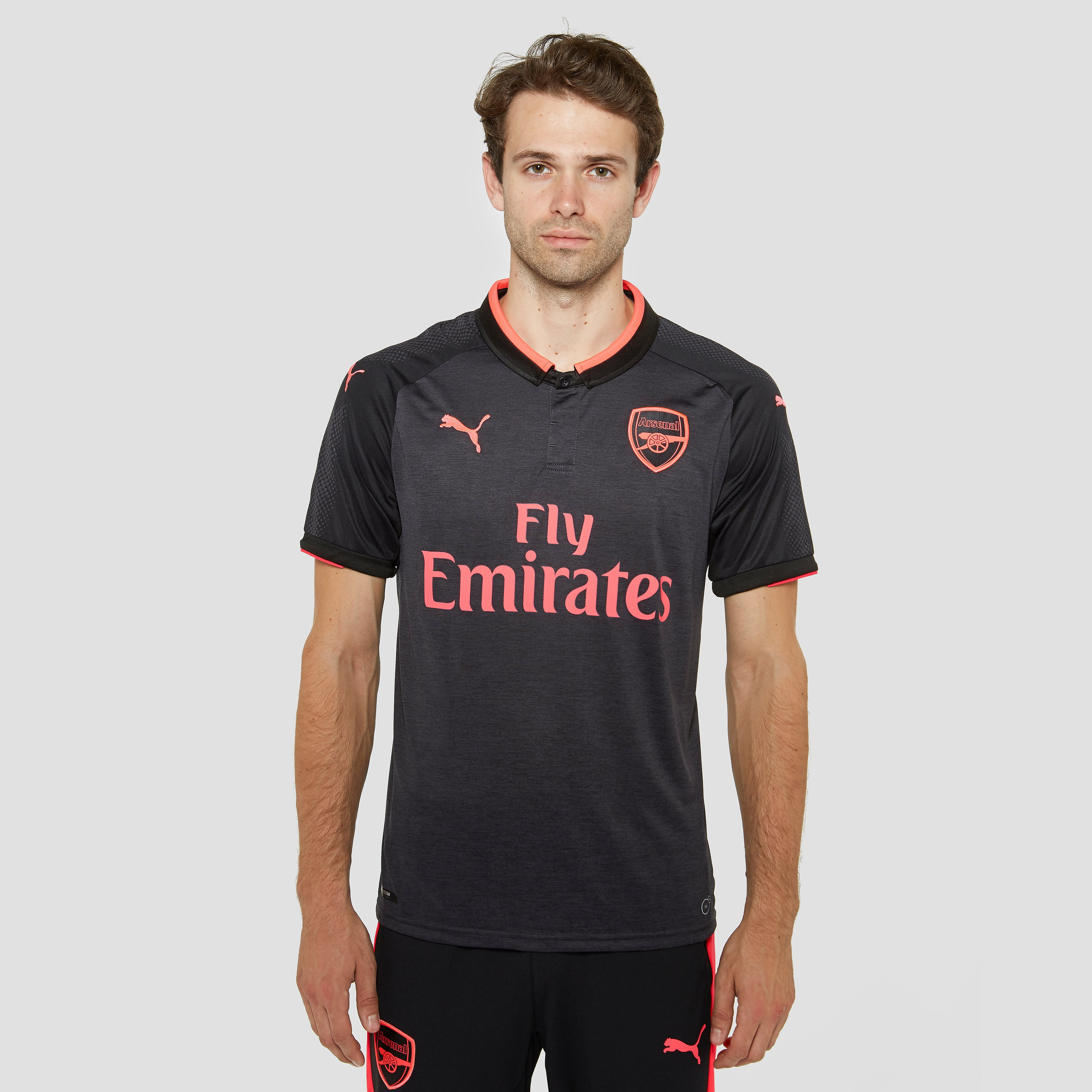 PUMA ARSENAL FC EU THIRD SHIRT 17/18 GRIJS HEREN