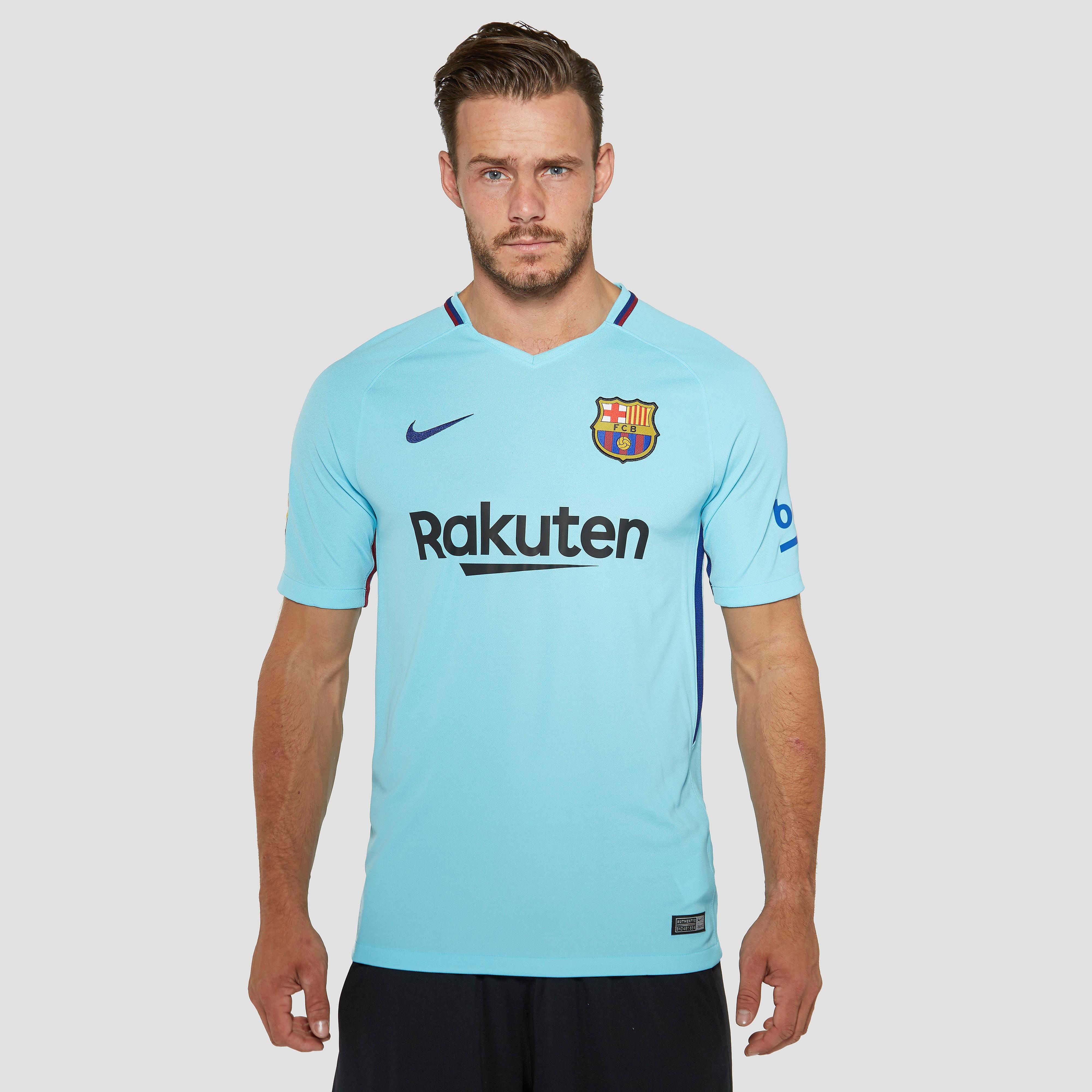 NIKE FC BARCELONA UITSHIRT 17/18 BLAUW HEREN