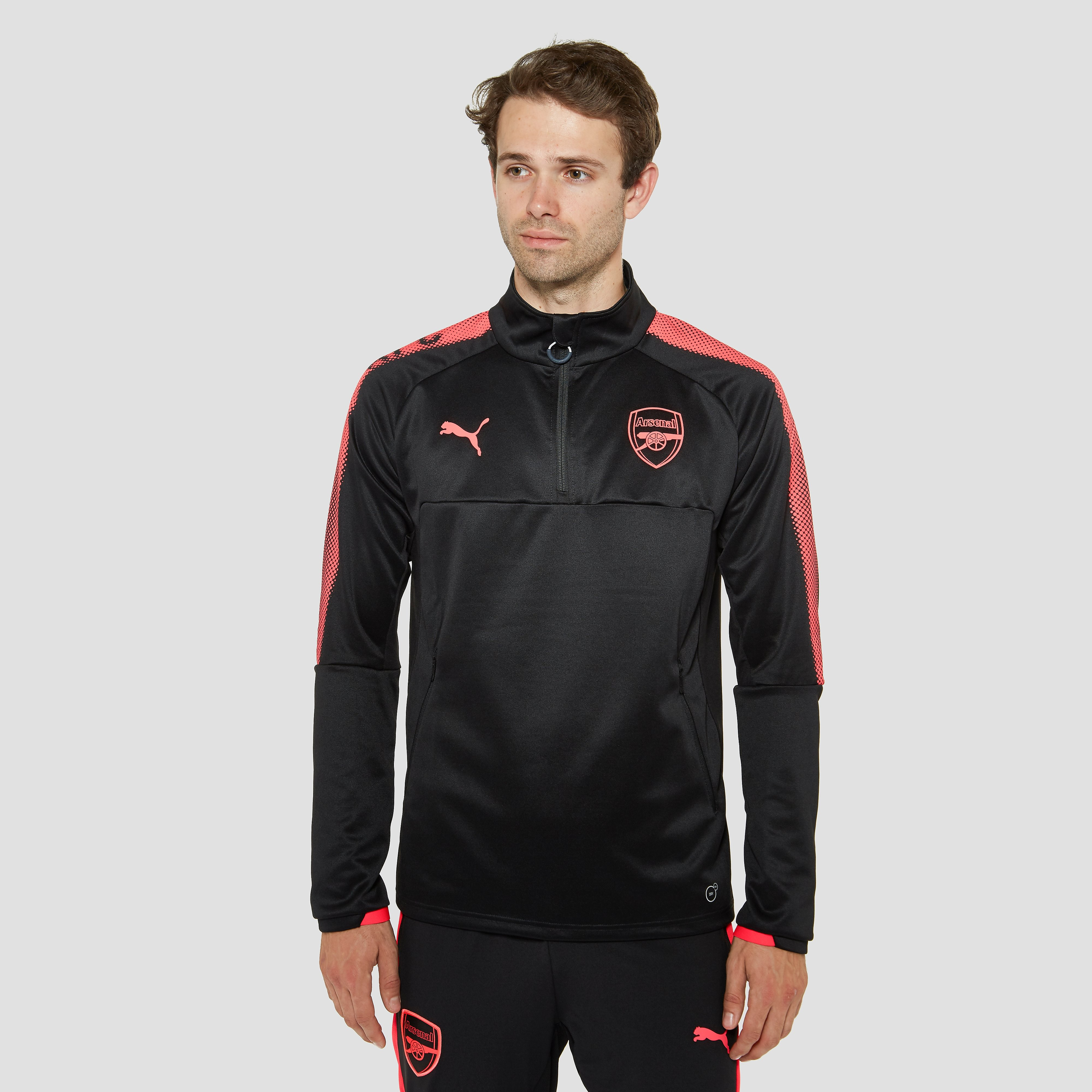 PUMA ARSENAL FC EU TRAININGSTOP 17/18 ZWART HEREN