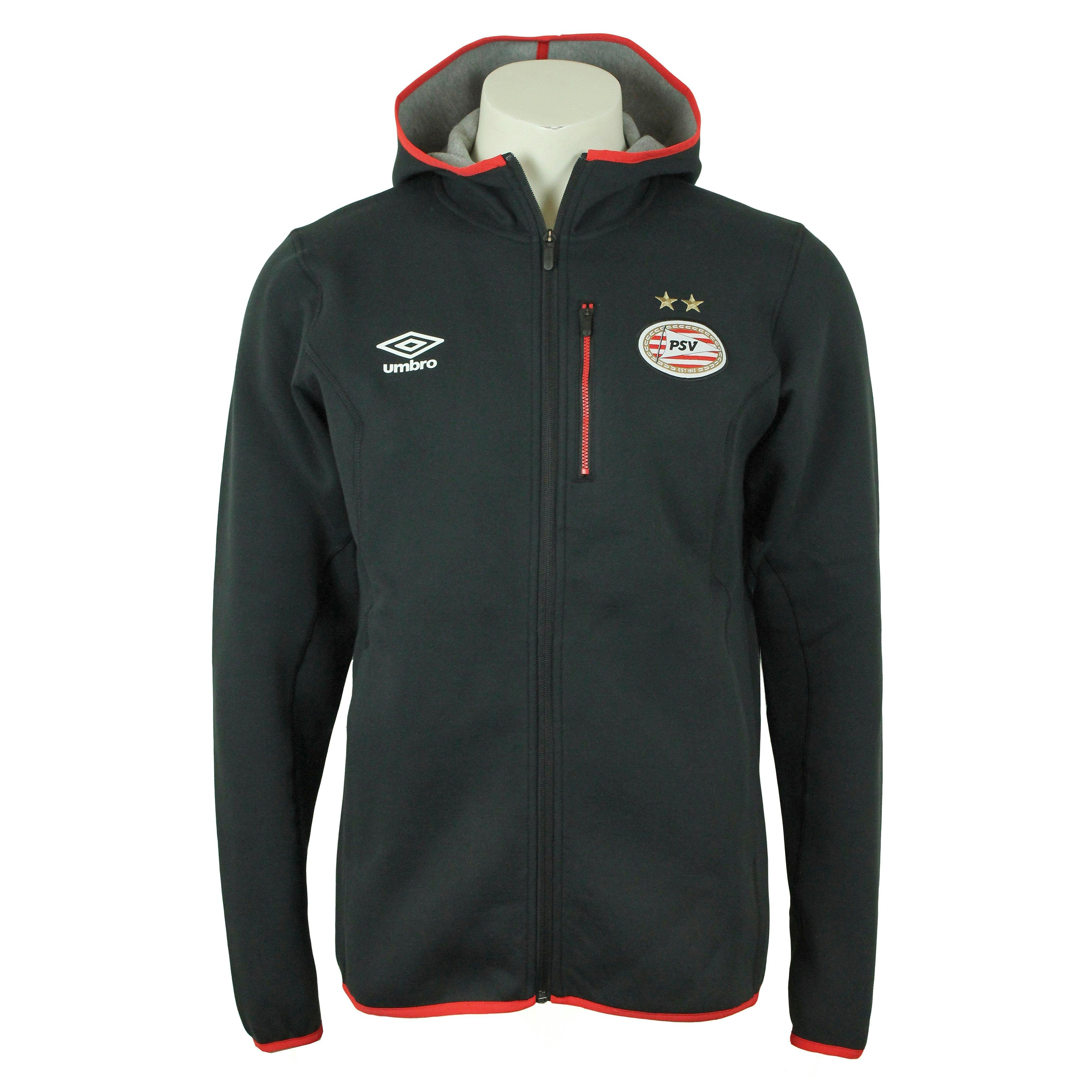 UMBRO PSV PRO FLEECE TRAININGSPAK 17/18 ZWART HEREN