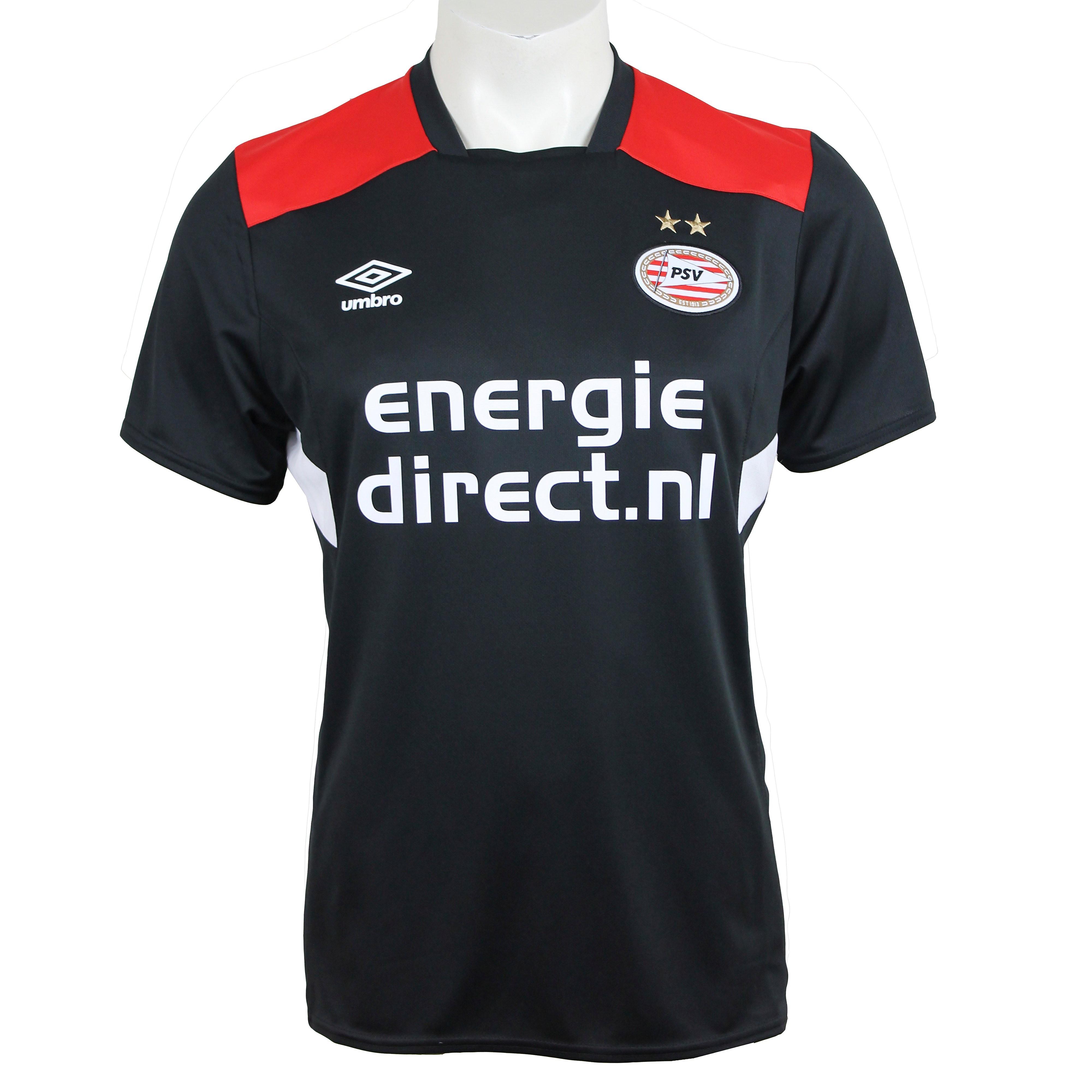 UMBRO PSV TRAININGSSHIRT ZWART JONGENS