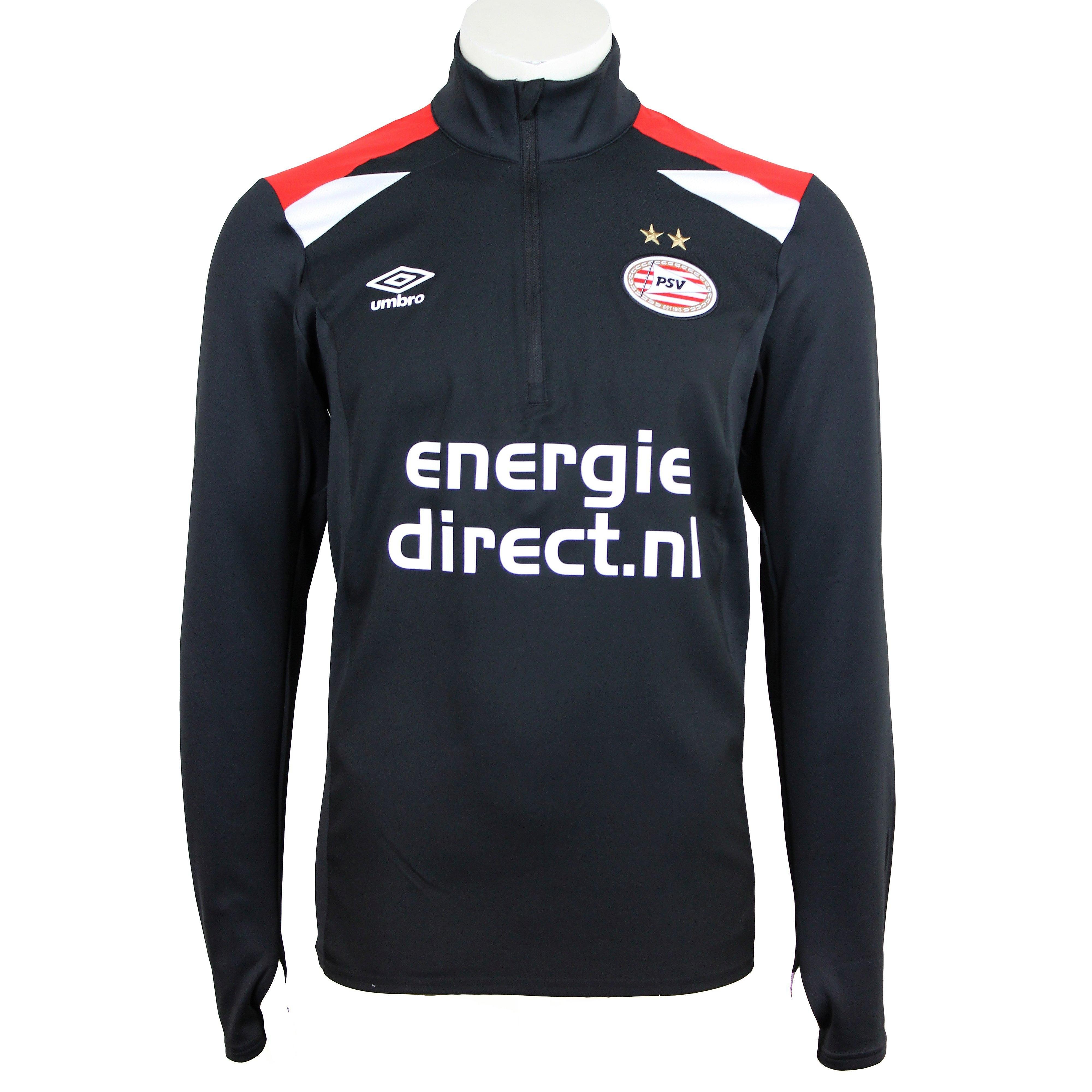UMBRO PSV 1/4-RITS TRAININGSPAK 17/18 ZWART KINDEREN