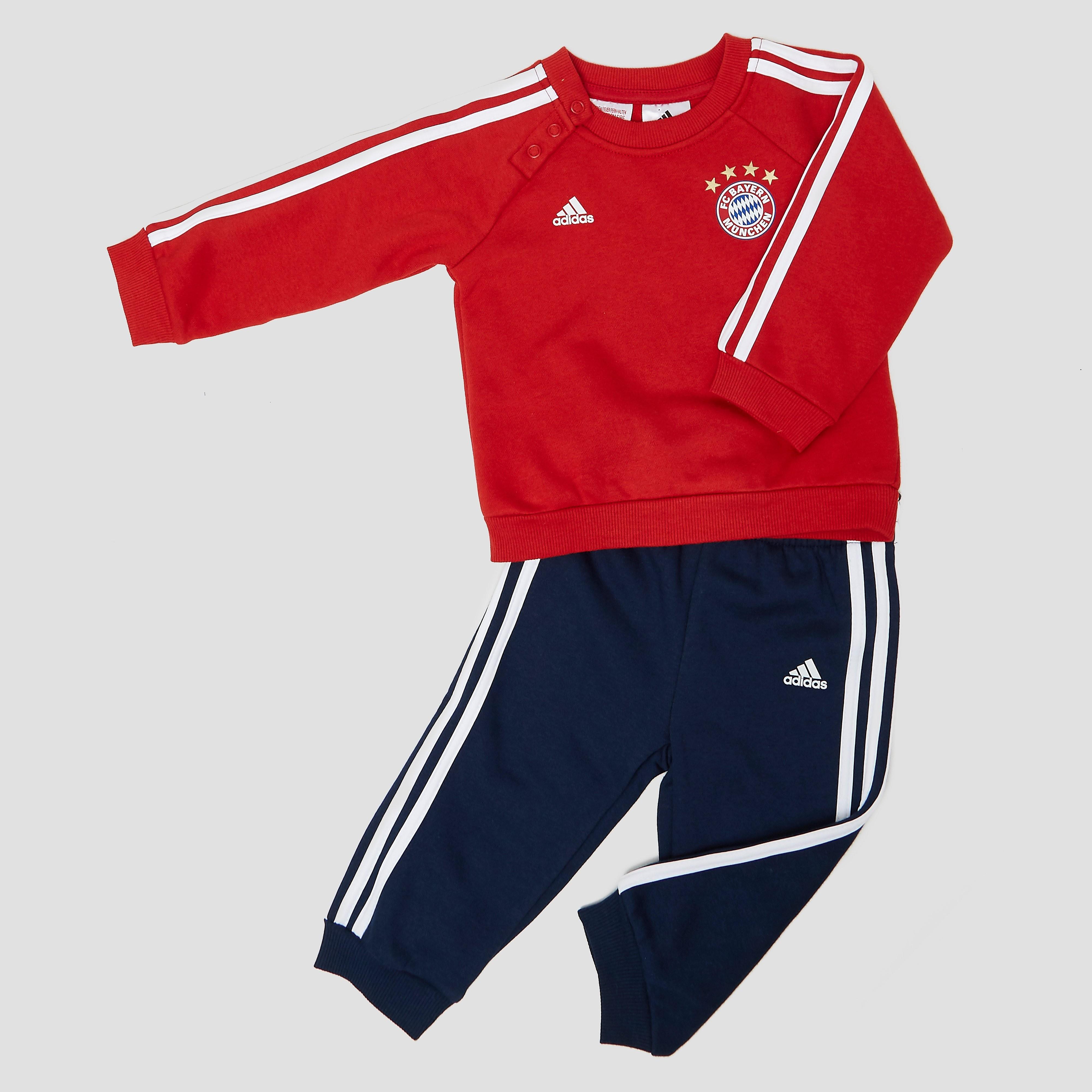ADIDAS FC BAYERN MÜNCHEN THIRD JOGGINGPAK ROOD/BLAUW BABY