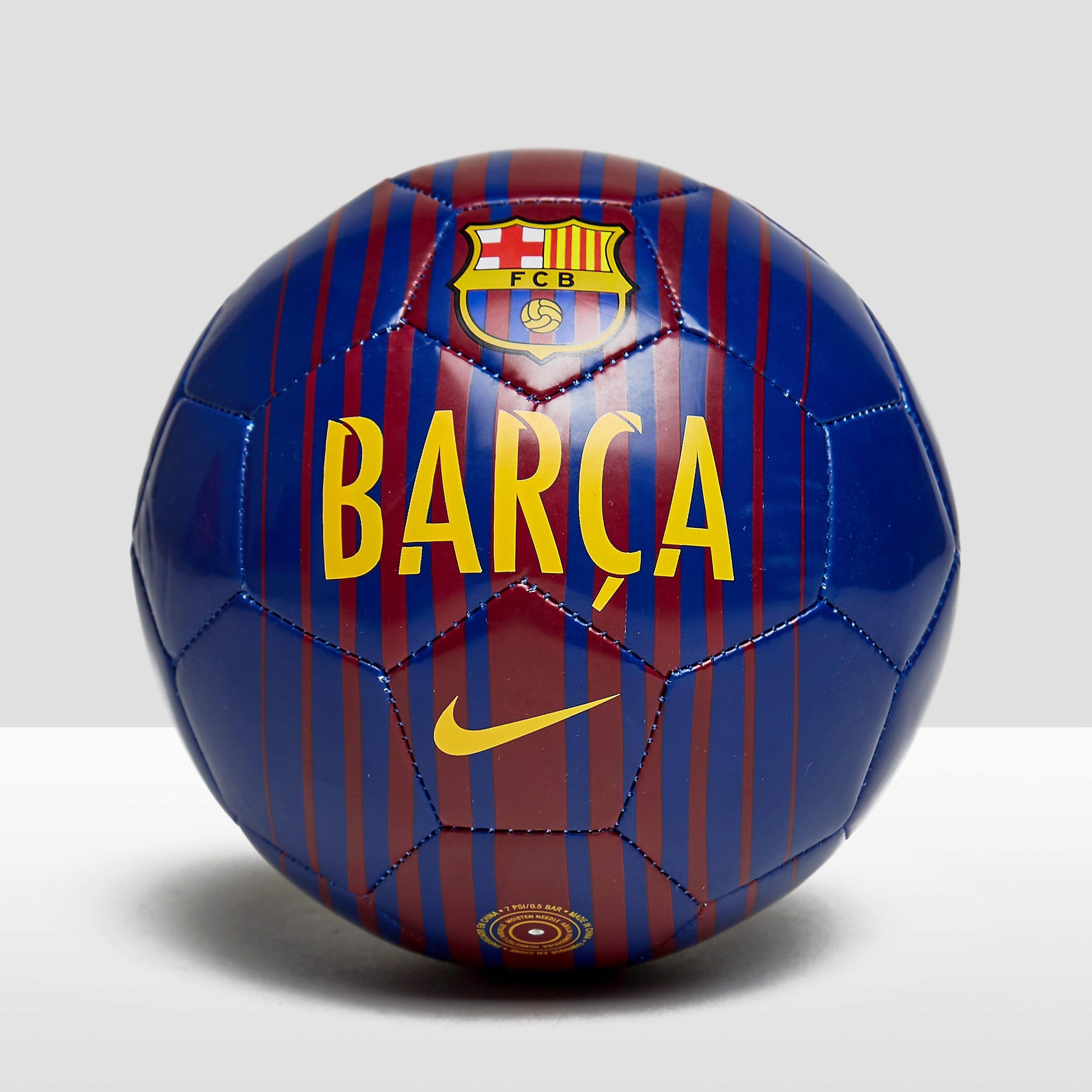 NIKE FC BARCELONA SKILLS VOETBAL BLAUW/ROOD