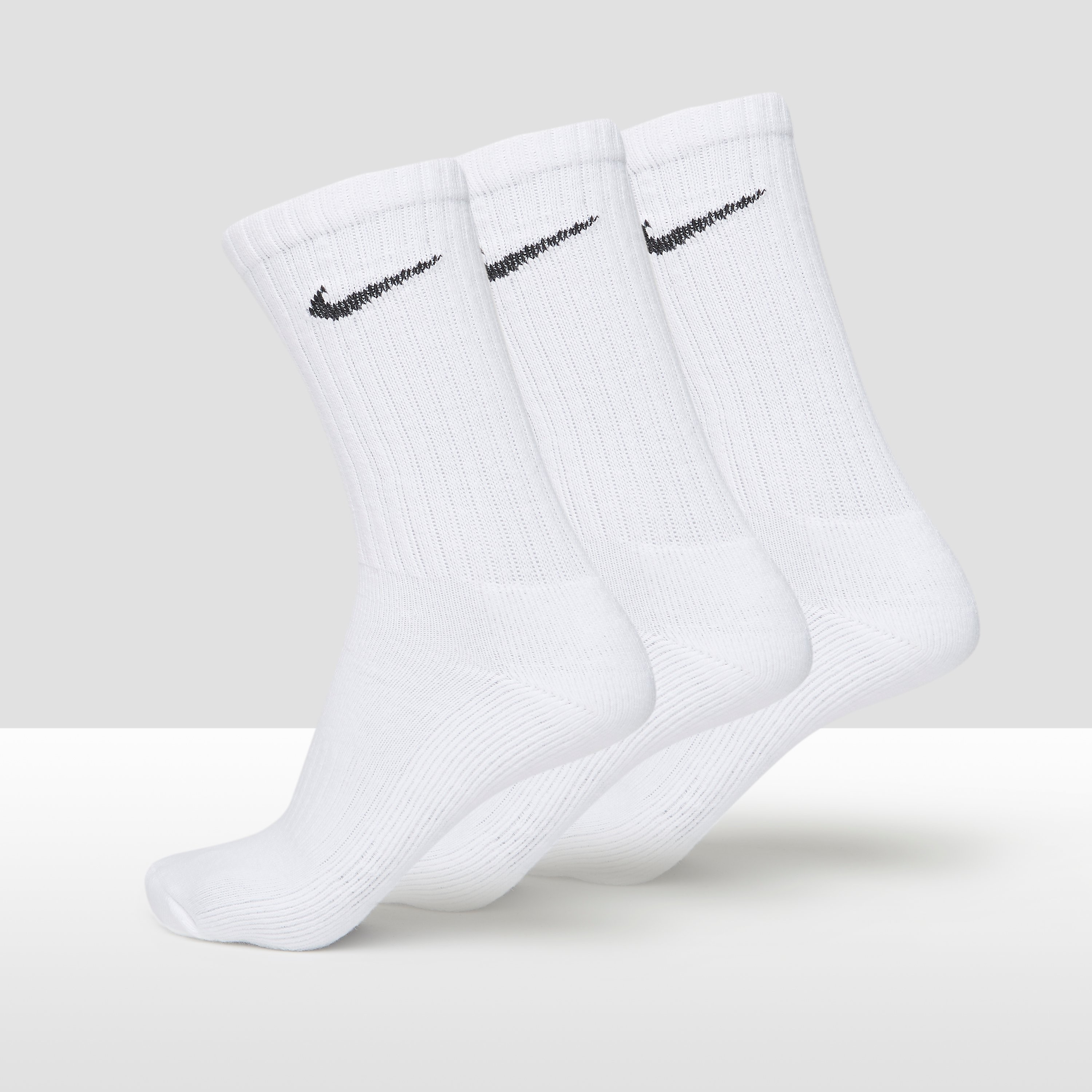 NIKE VALUE COTTON CREW SPORTSOKKEN 3-PACK HEREN