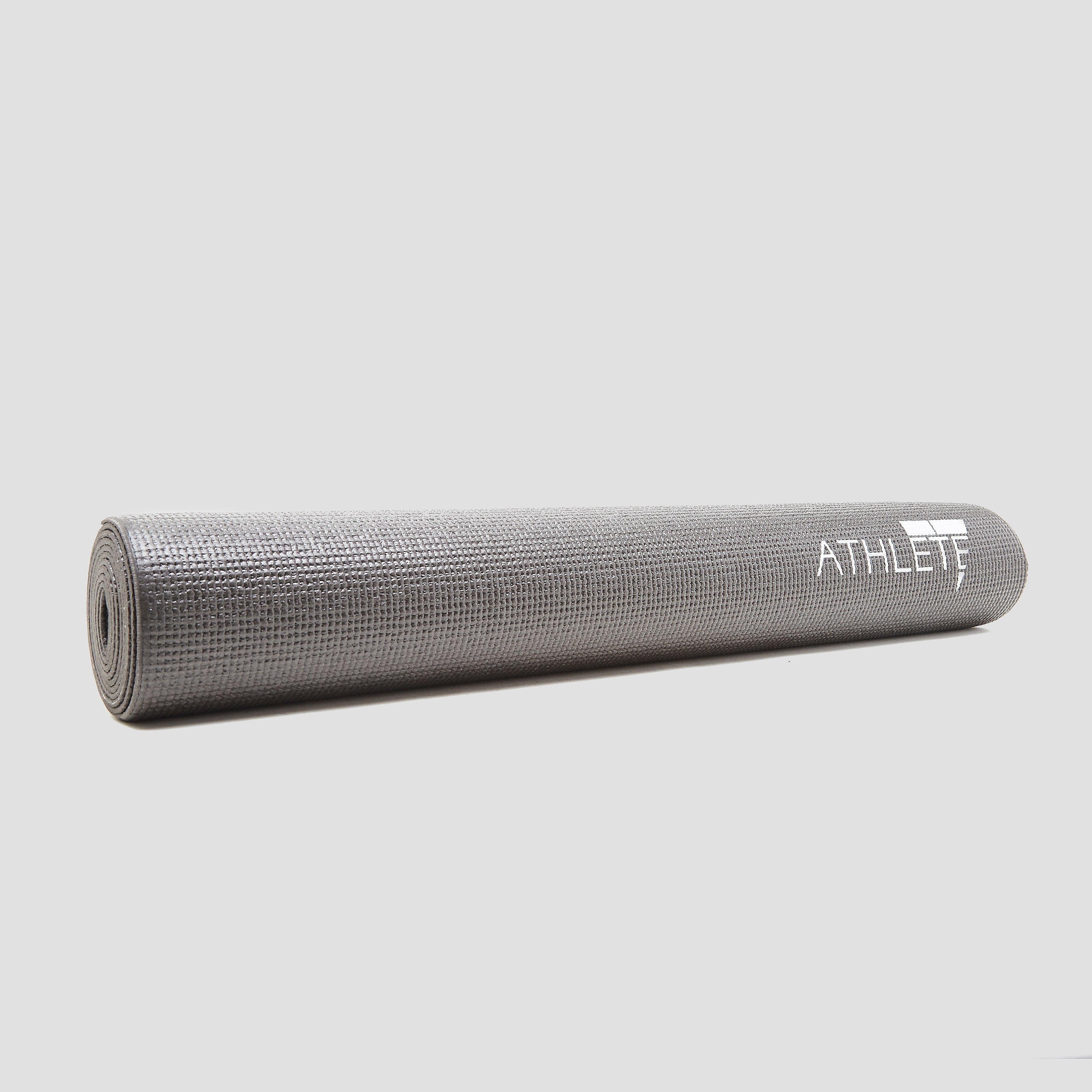 ATHLETE YOGAMAT 3 MILLIMETER PVC GRIJS