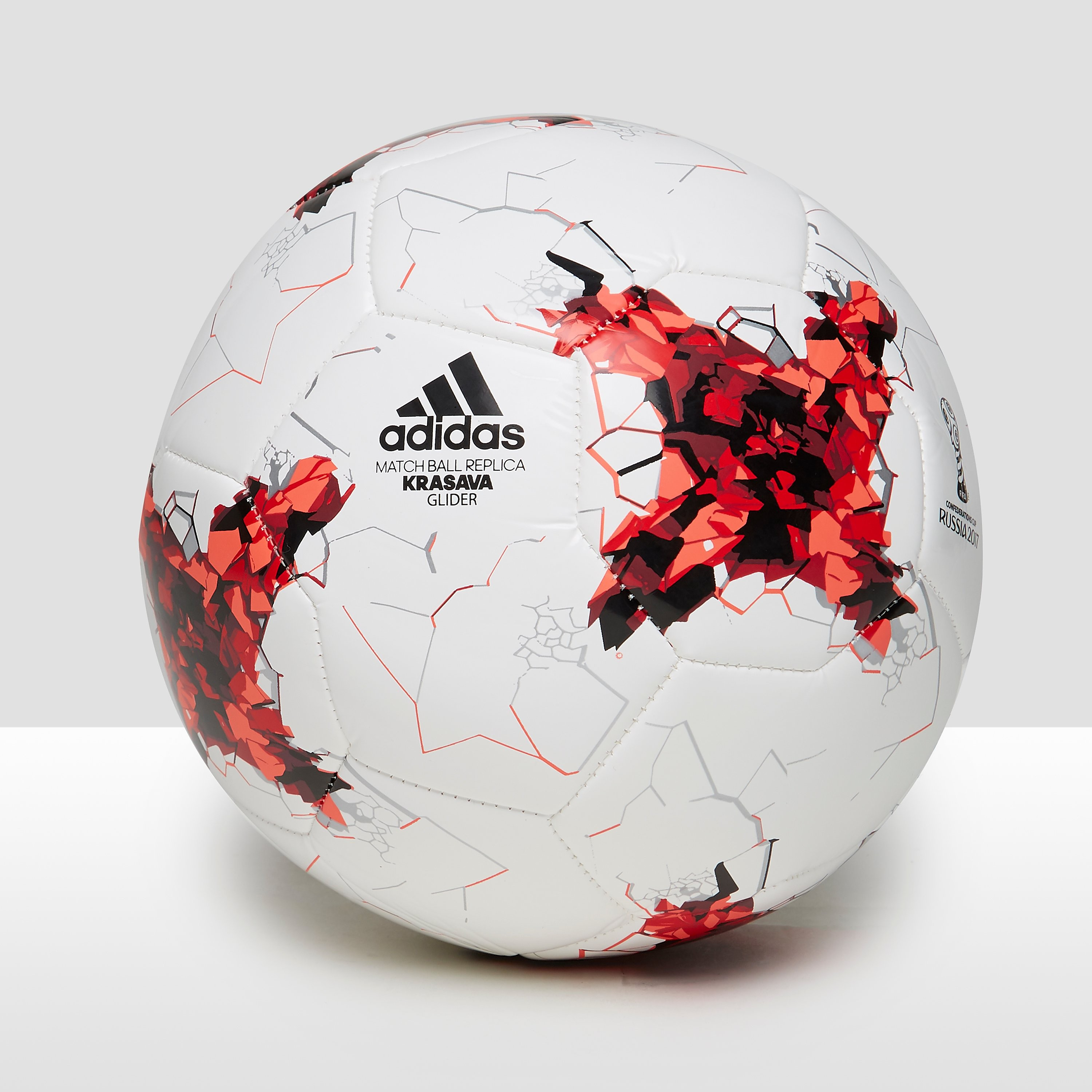 ADIDAS CONFEDERATIONS CUP GLIDER VOETBAL WIT