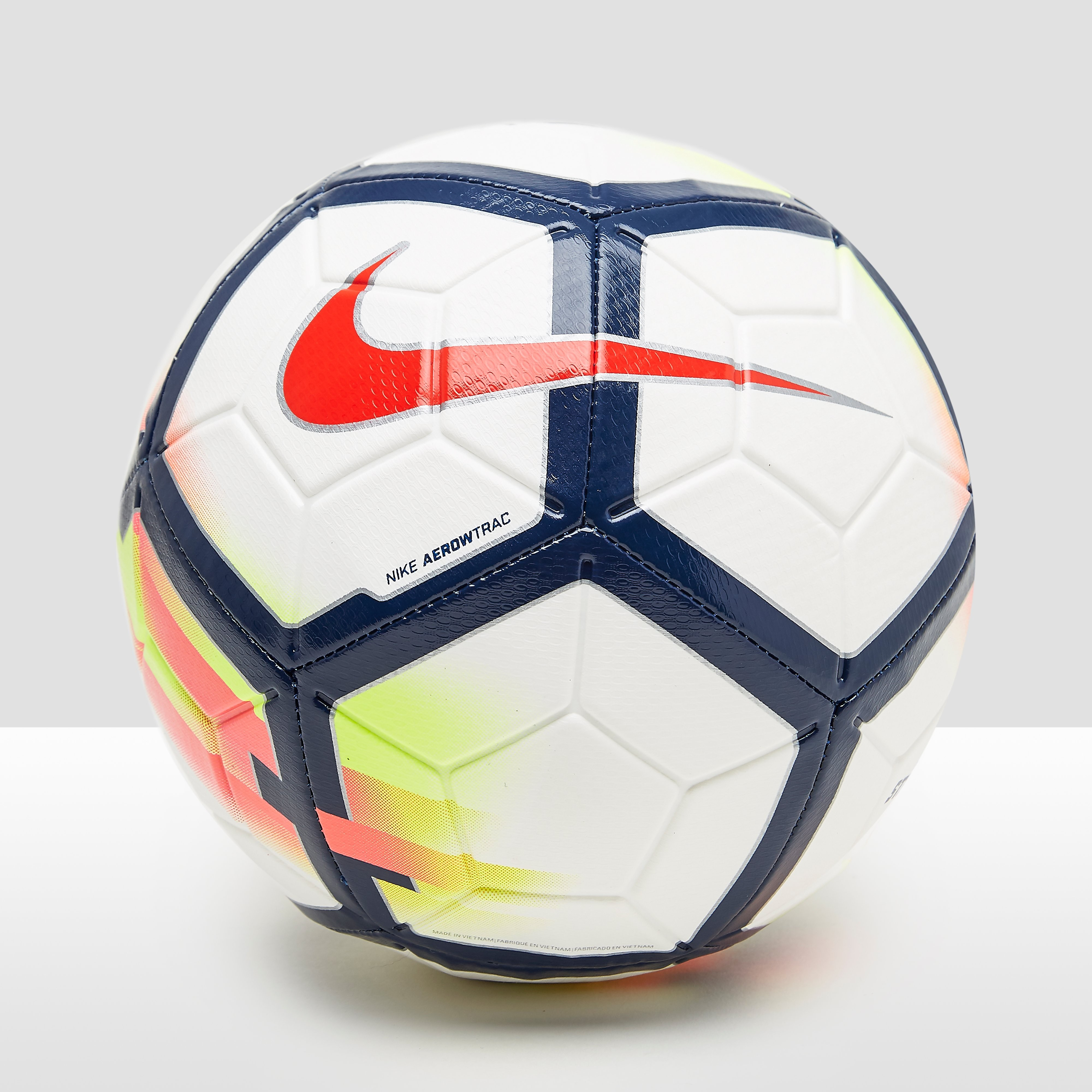 NIKE PREMIER LEAGUE STRIKE VOETBAL WIT/BLAUW