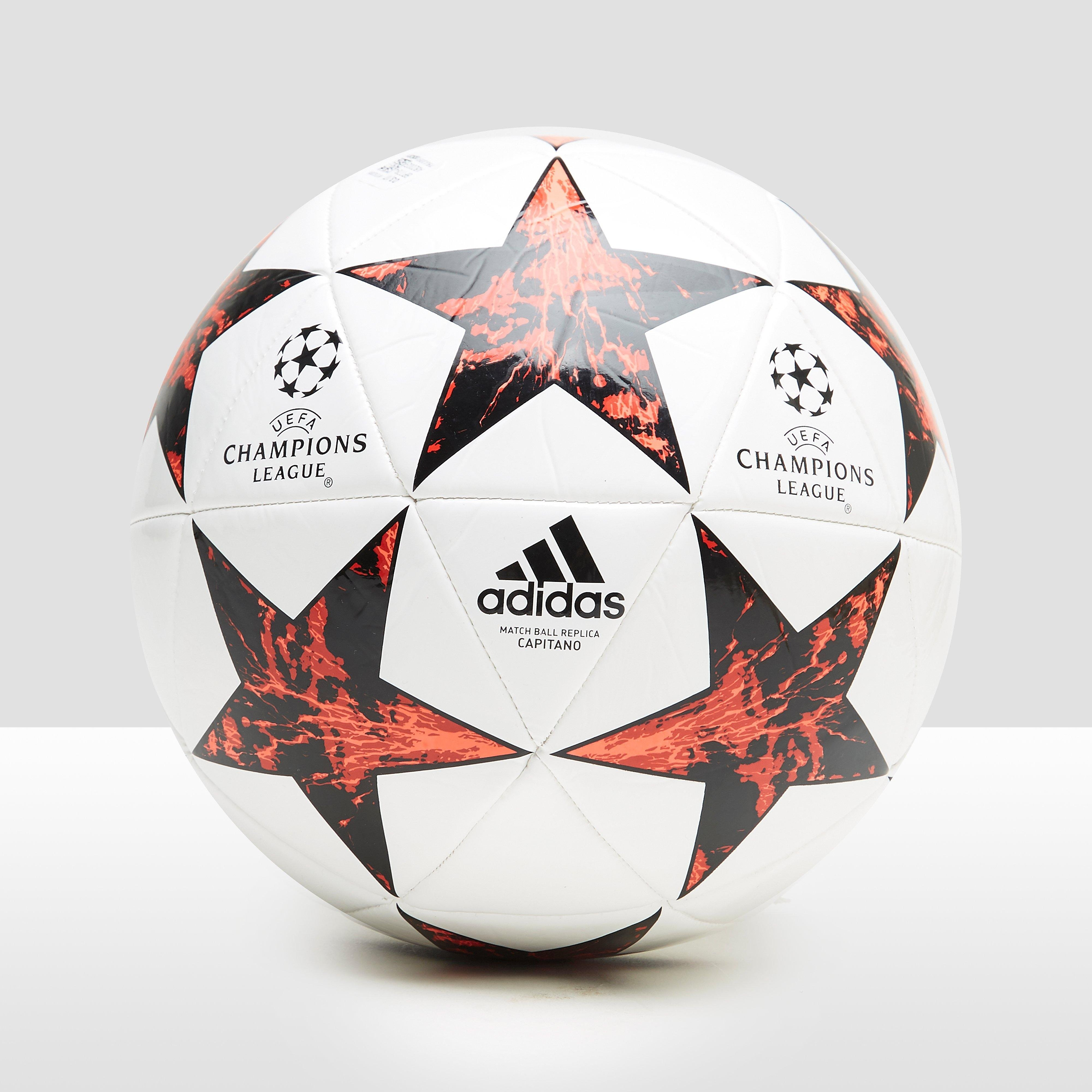ADIDAS FINALE 17 CAPITANO VOETBAL WIT/ROOD