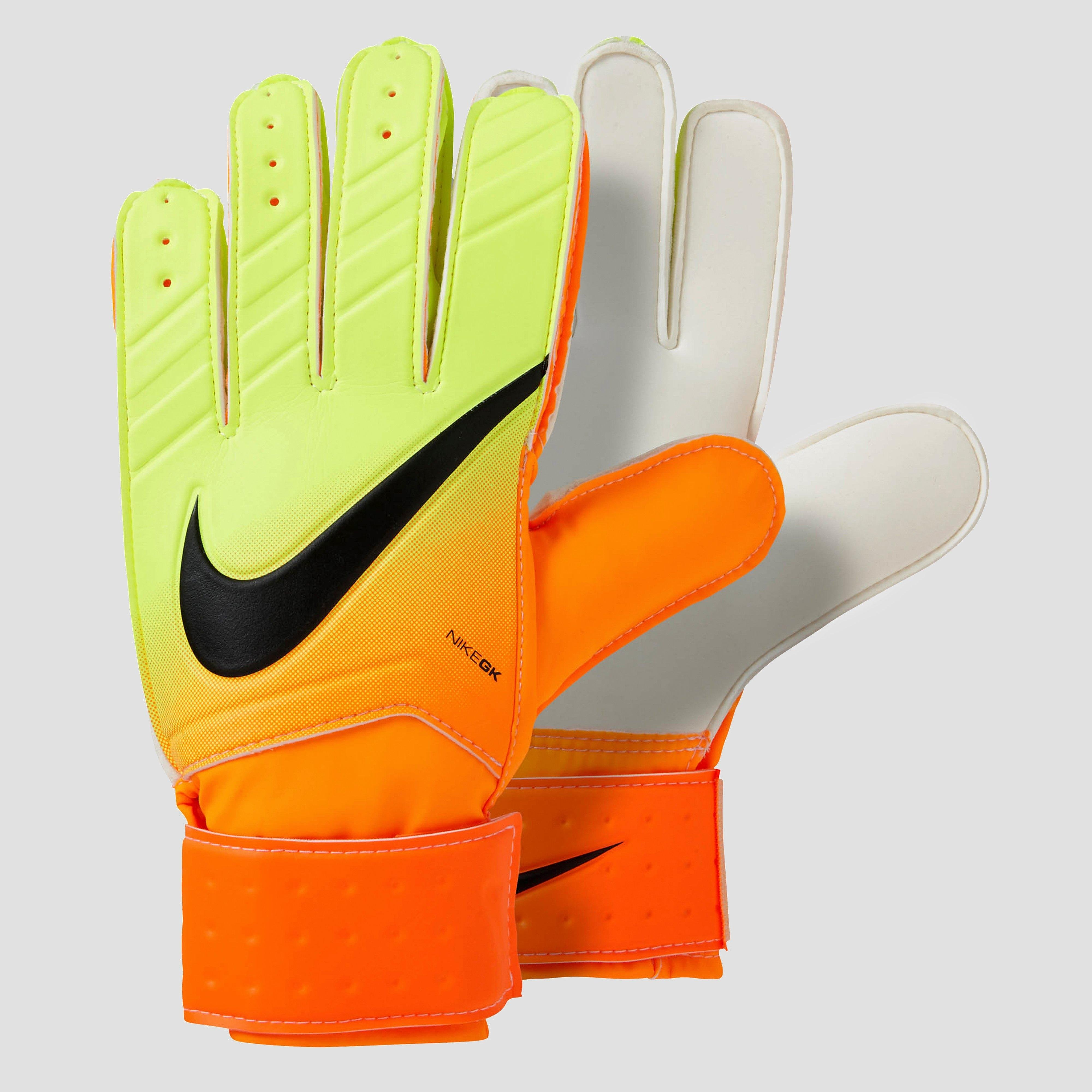 NIKE GOALKEEPER MATCH FA16 KEEPERSHANDSCHOENEN GEEL/ORANJE HEREN