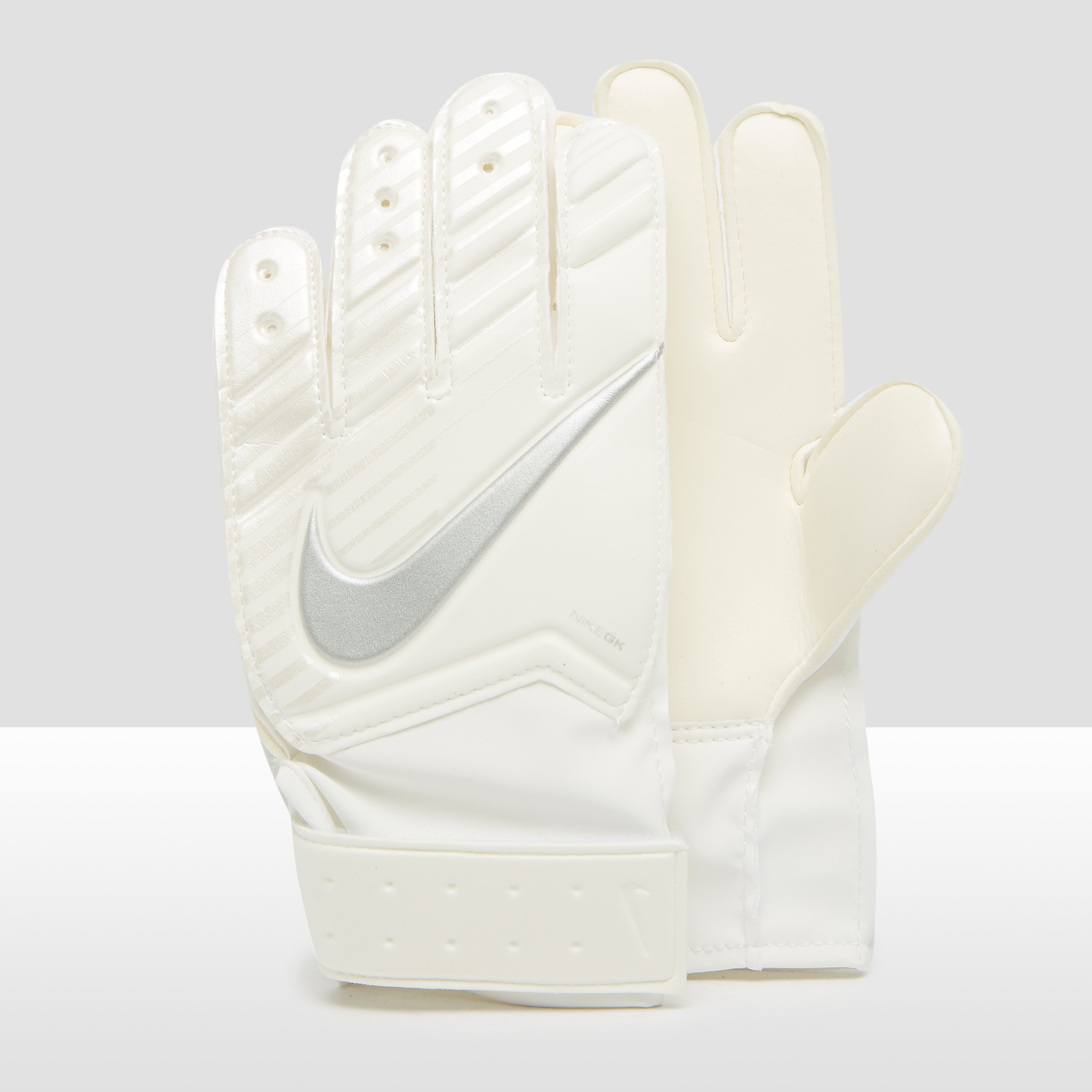 NIKE GOALKEEPER MATCH KEEPERSHANDSCHOENEN WIT KINDEREN