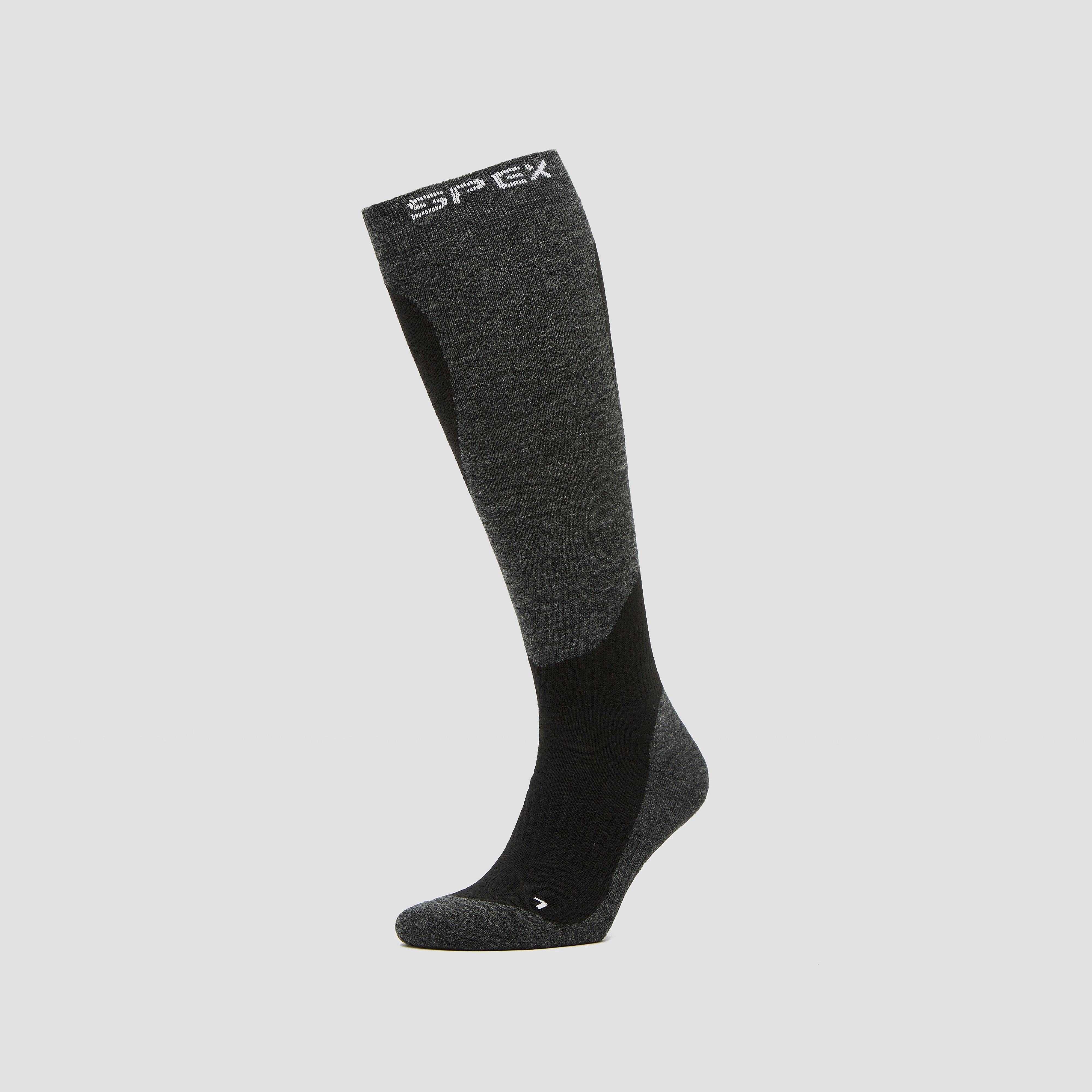 SPEX Skisokken zwart/grijs Dames