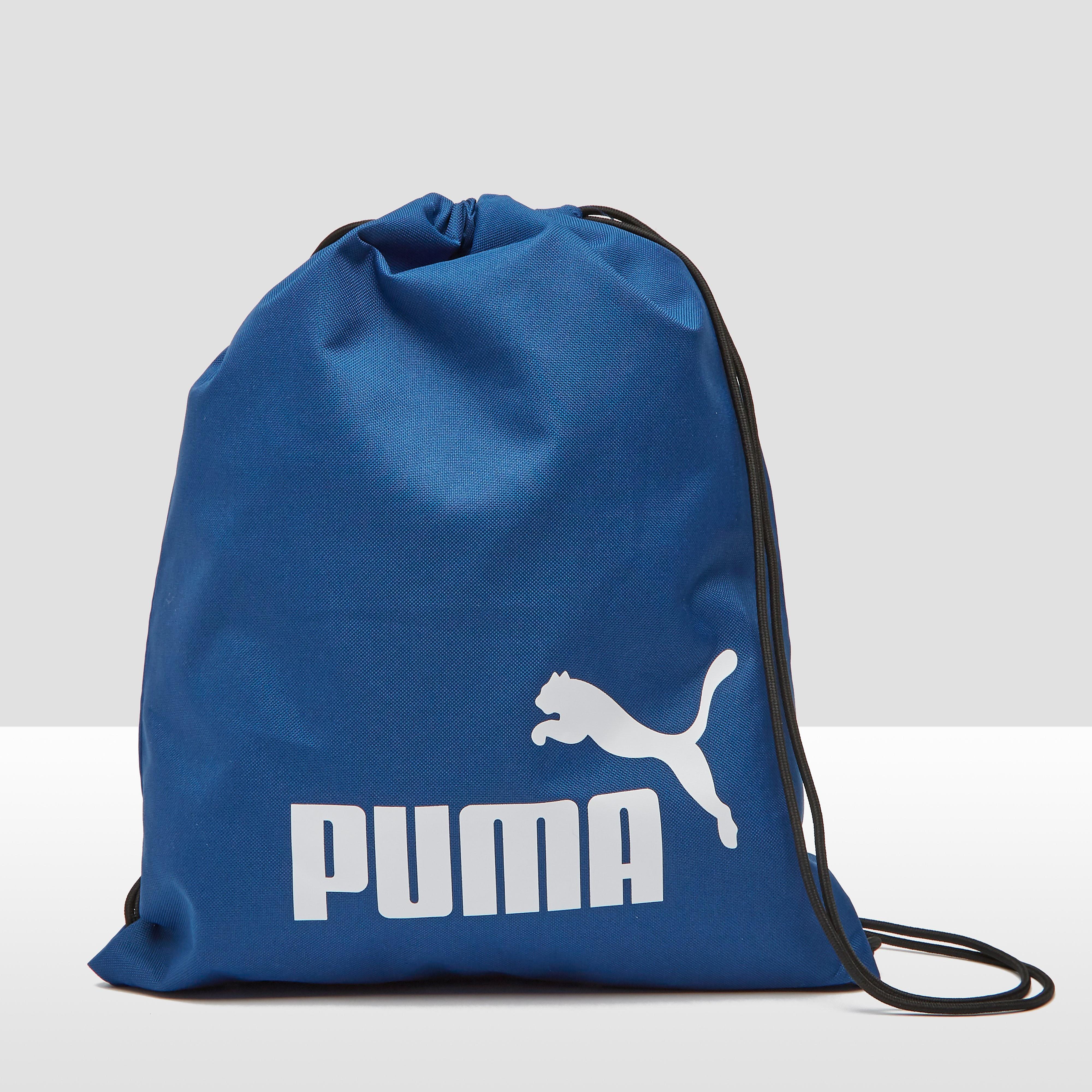 PUMA Phase gymtas blauw Kinderen