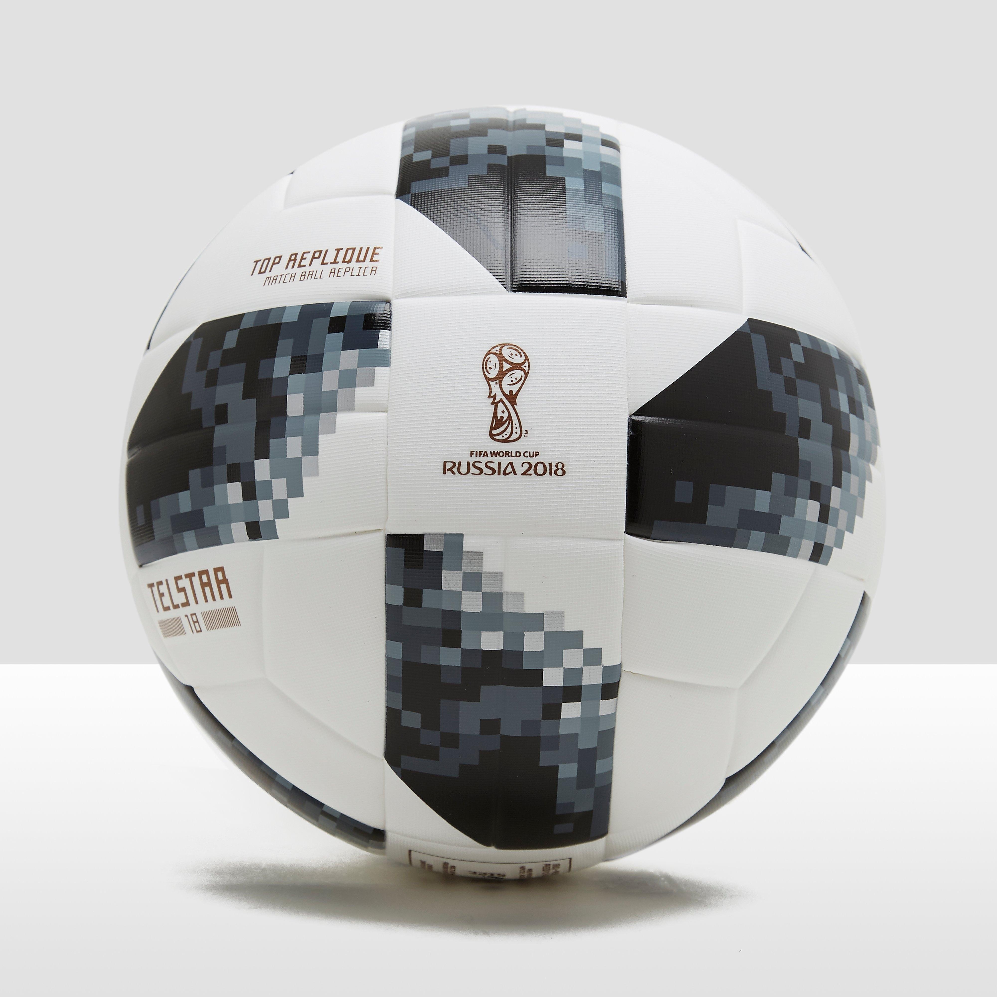 ADIDAS FIFA WERELDKAMPIOENSCHAP 2018 TOP REPLIQUE VOETBAL WIT/ZWART