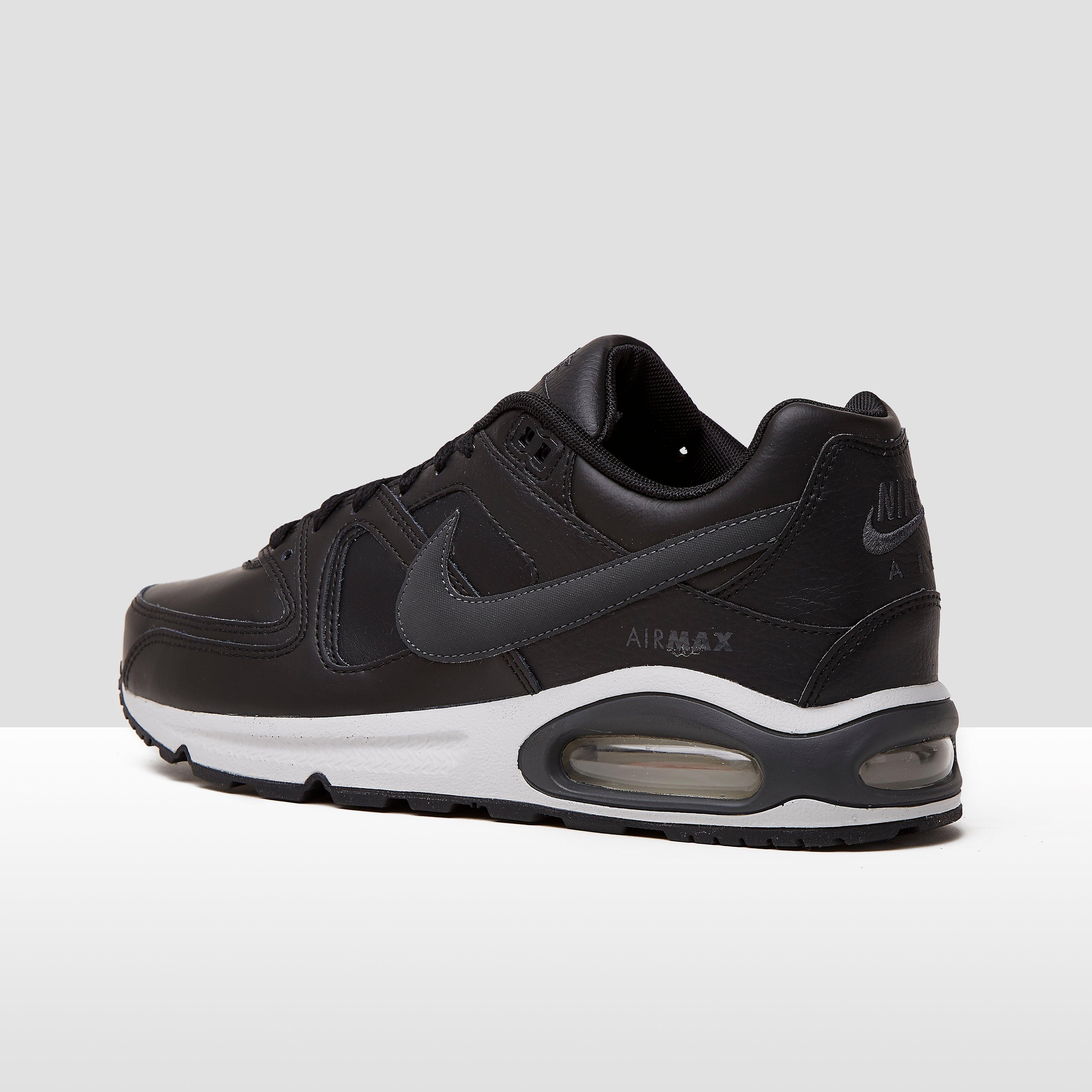 Air max command leather sneakers zwart heren