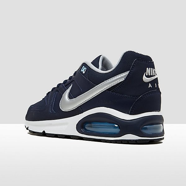 Air max command leather sneakers blauw heren