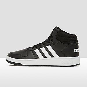 huge discount 6fc7c 6fec4 ADIDAS HOOPS 2.0 MID SNEAKERS ZWART HEREN