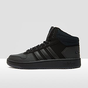 huge discount b48c2 bf576 ADIDAS HOOPS 2.0 MID SNEAKERS ZWART HEREN