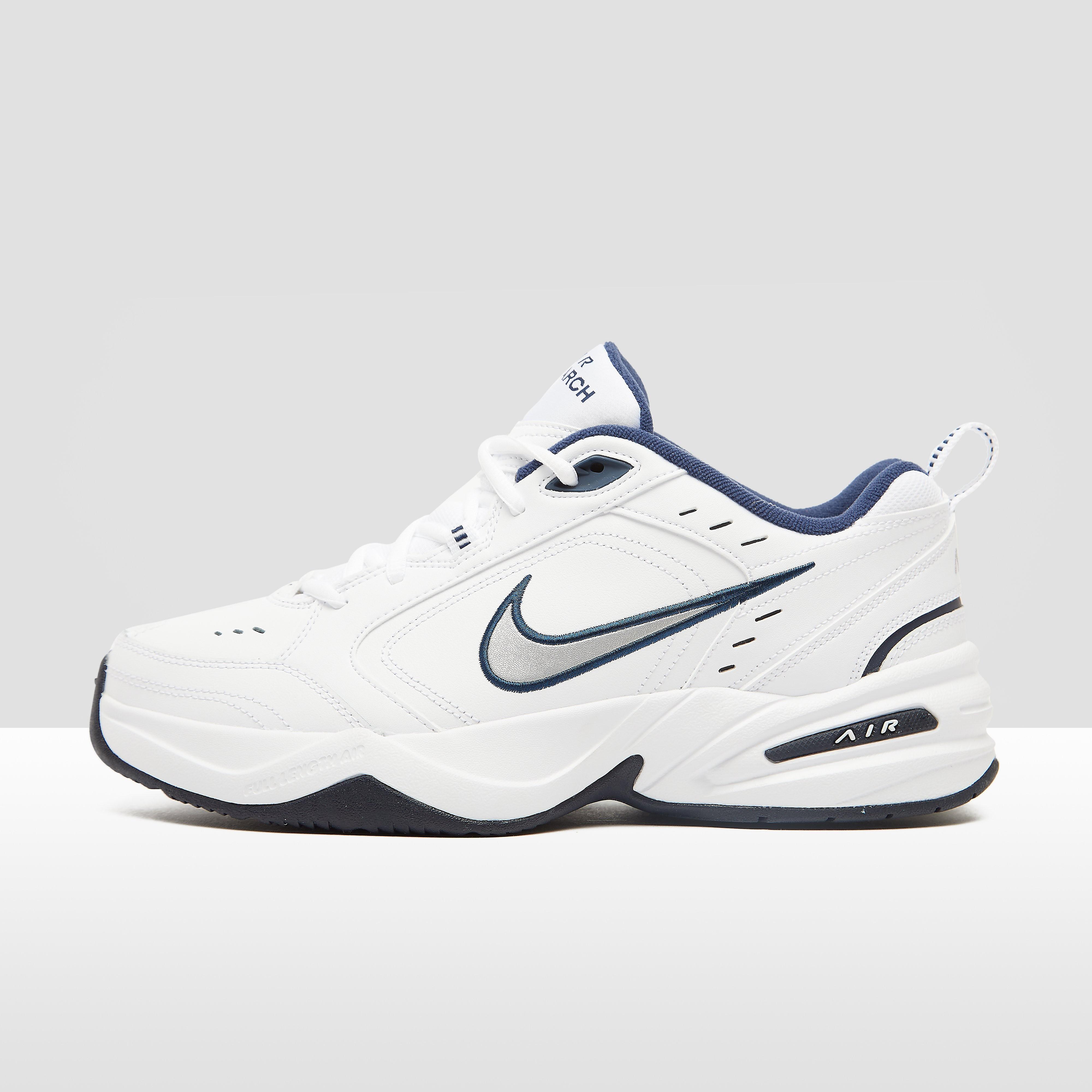 NIKE Chunky air monarch iv sneakers wit/blauw heren Heren
