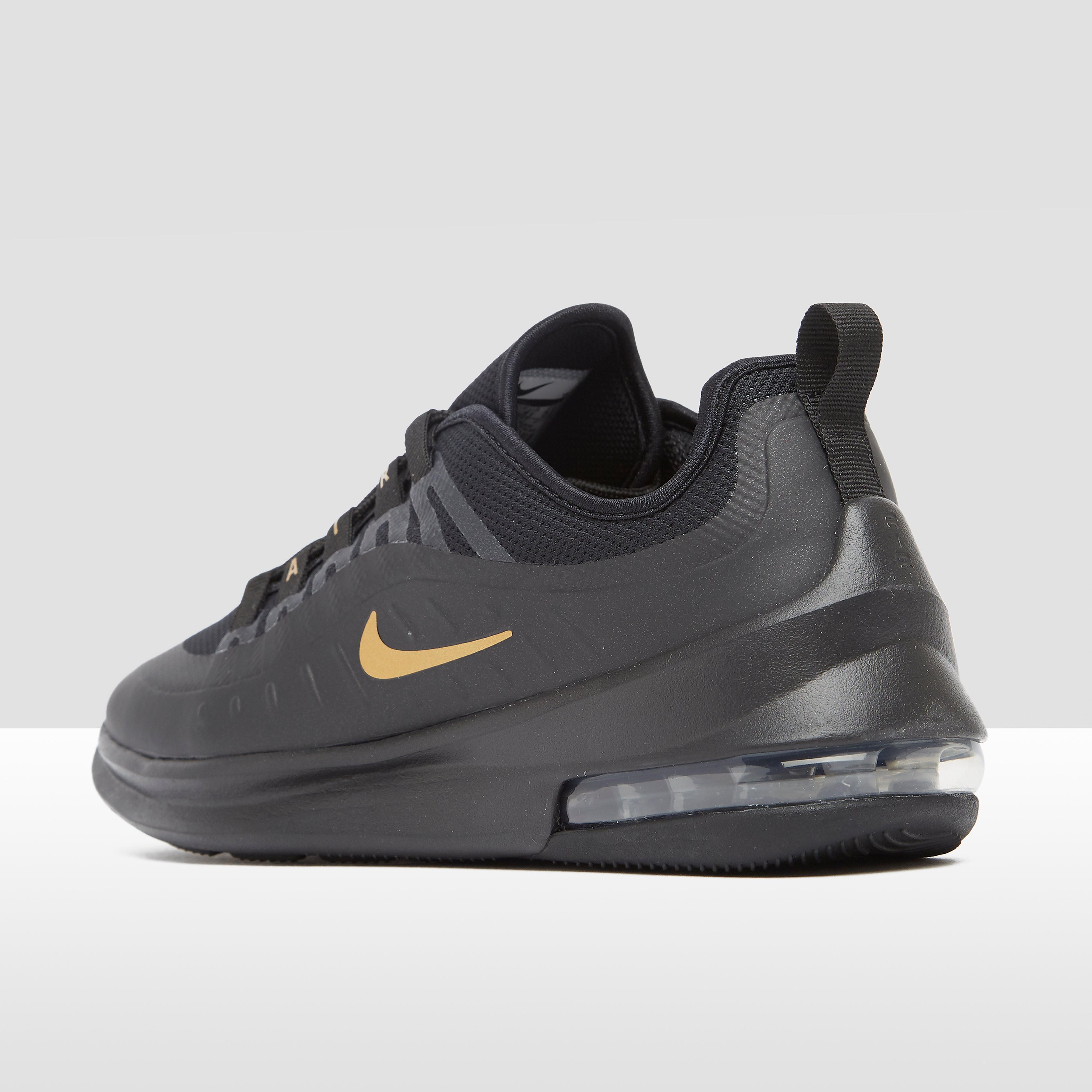 Air max axis sneakers zwart/goud dames
