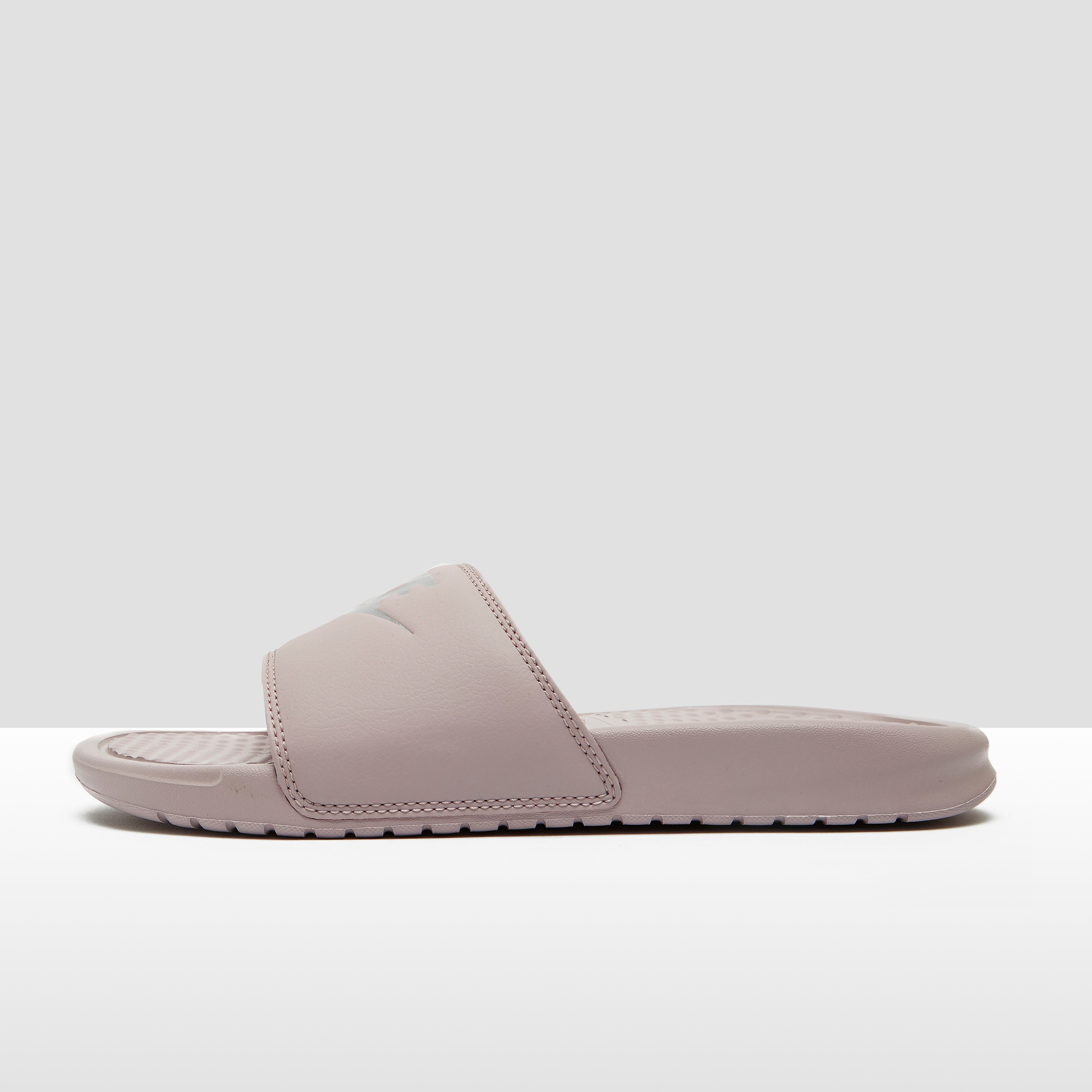 NIKE BENASSI JUST DO IT SLIPPERS ROZE DAMES