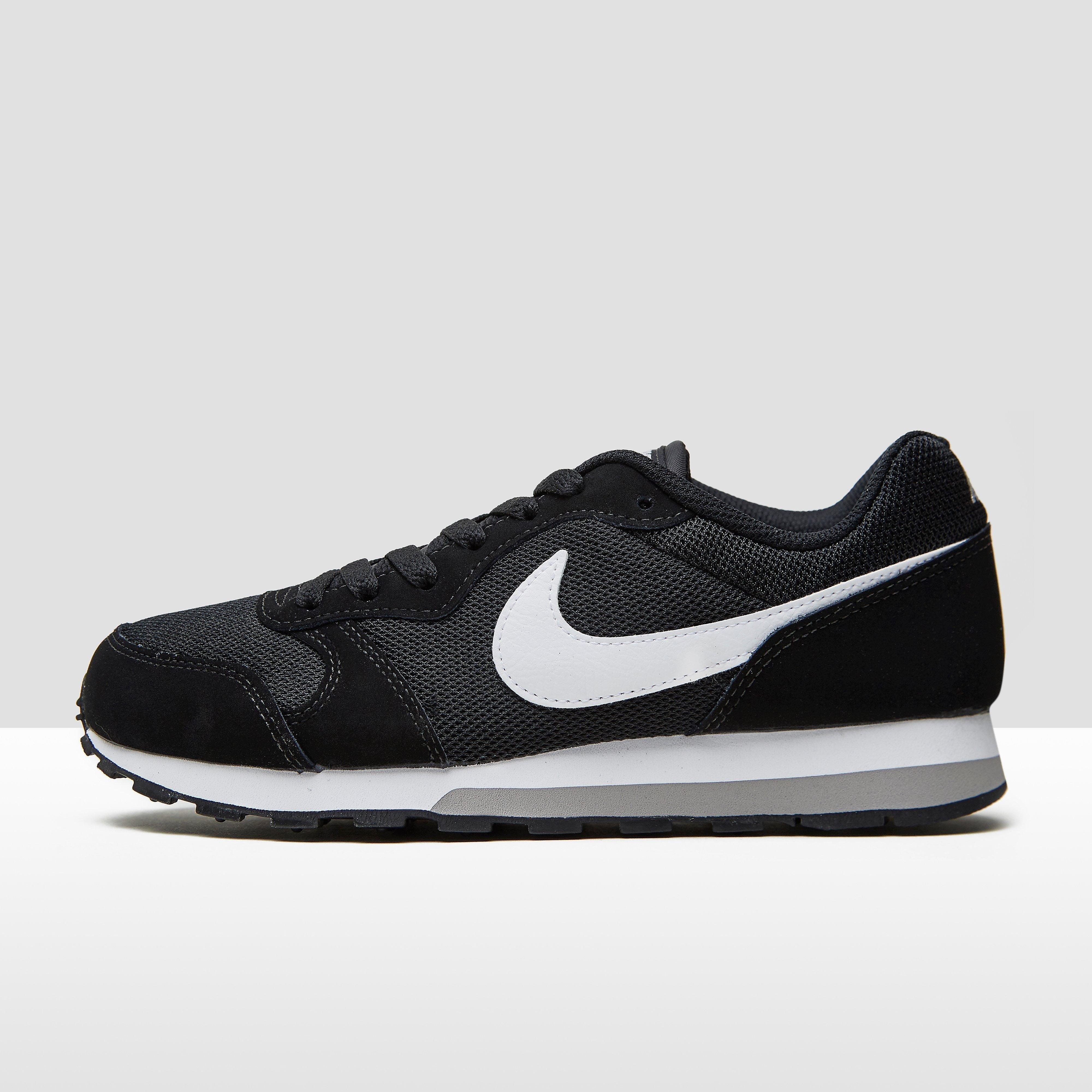 NIKE Md runner 2 sneakers zwart/wit kinderen Kinderen