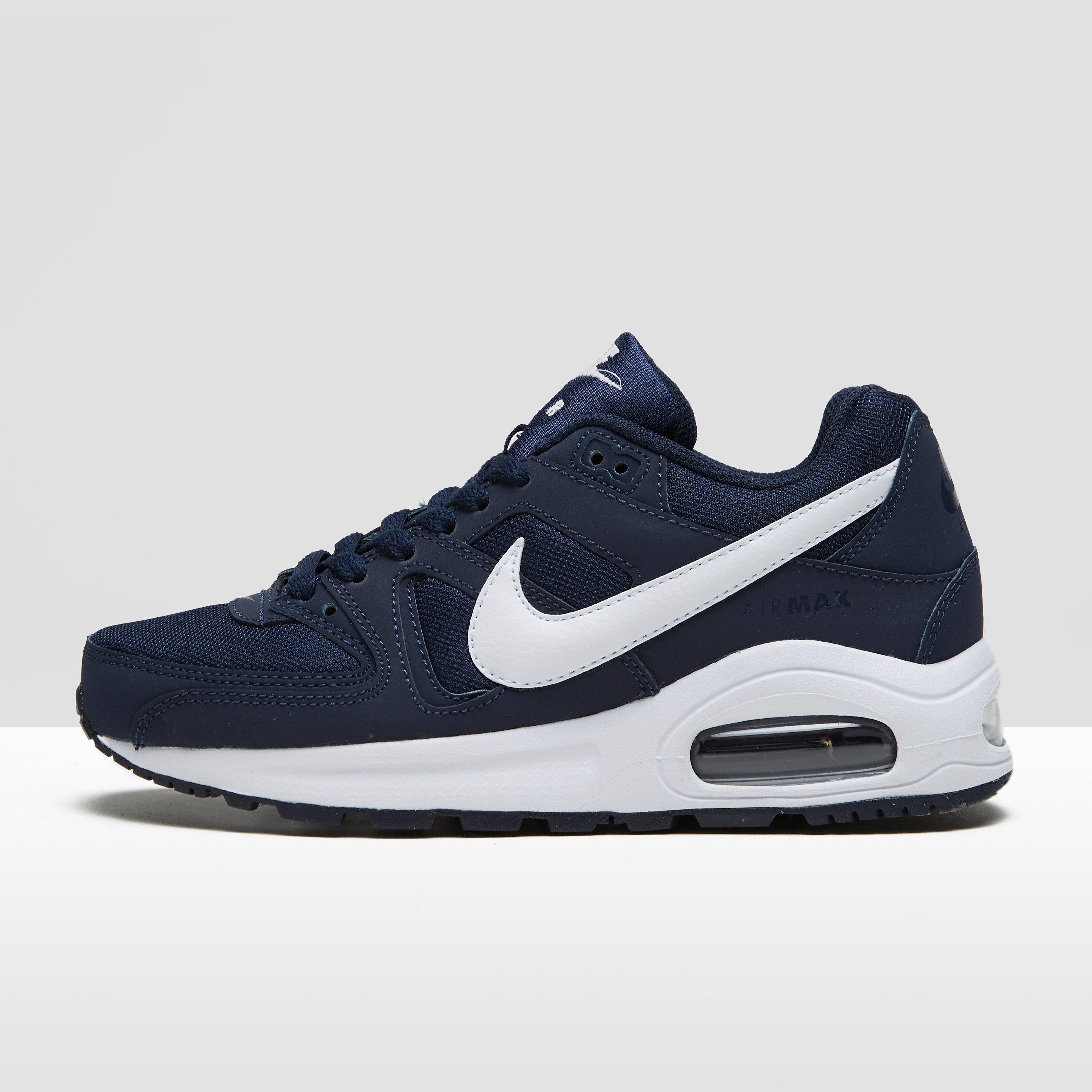 NIKE AIR MAX COMMAND FLEX SNEAKERS BLAUW/WIT KINDEREN