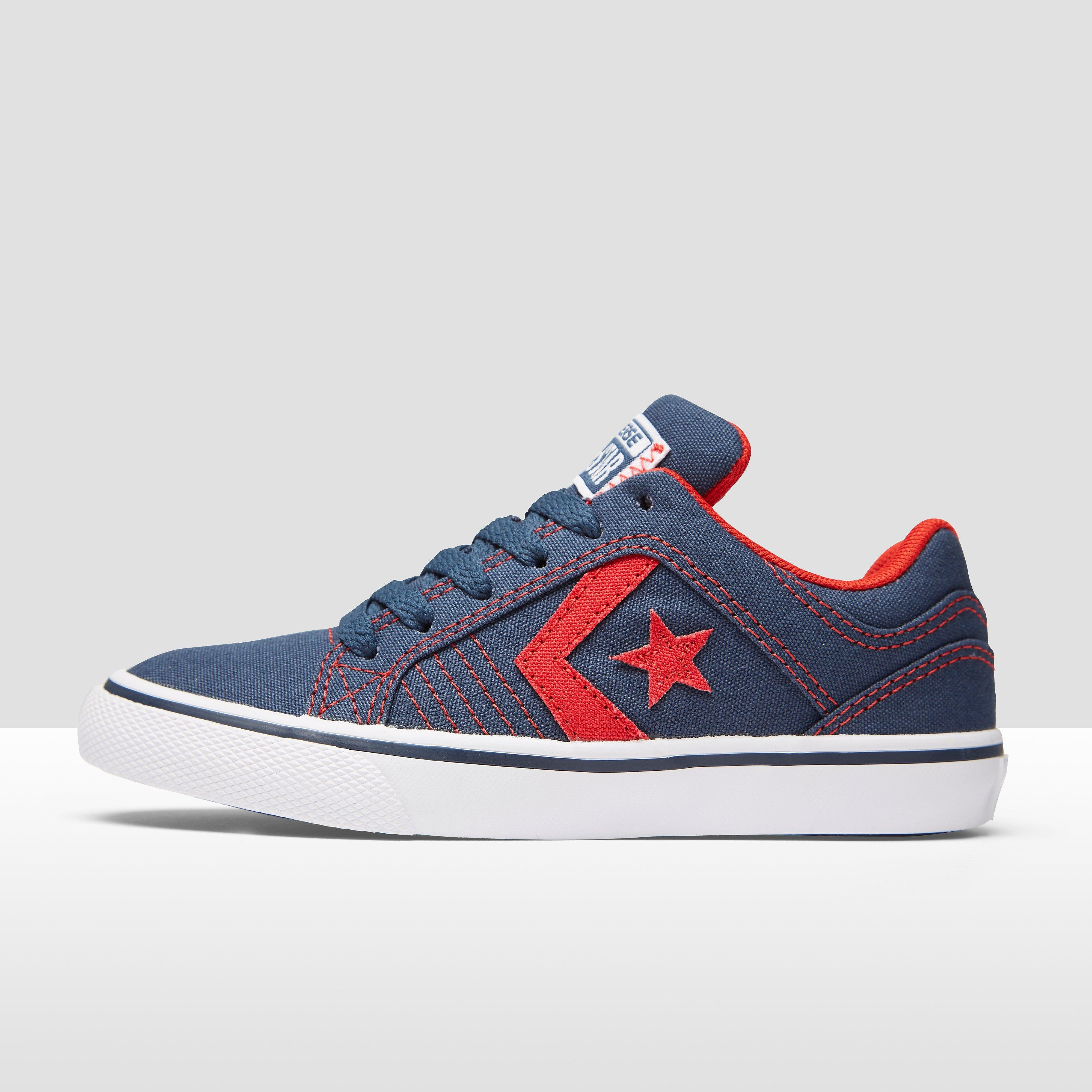 CONVERSE GATES OX SNEAKERS BLAUW/ROOD KINDEREN