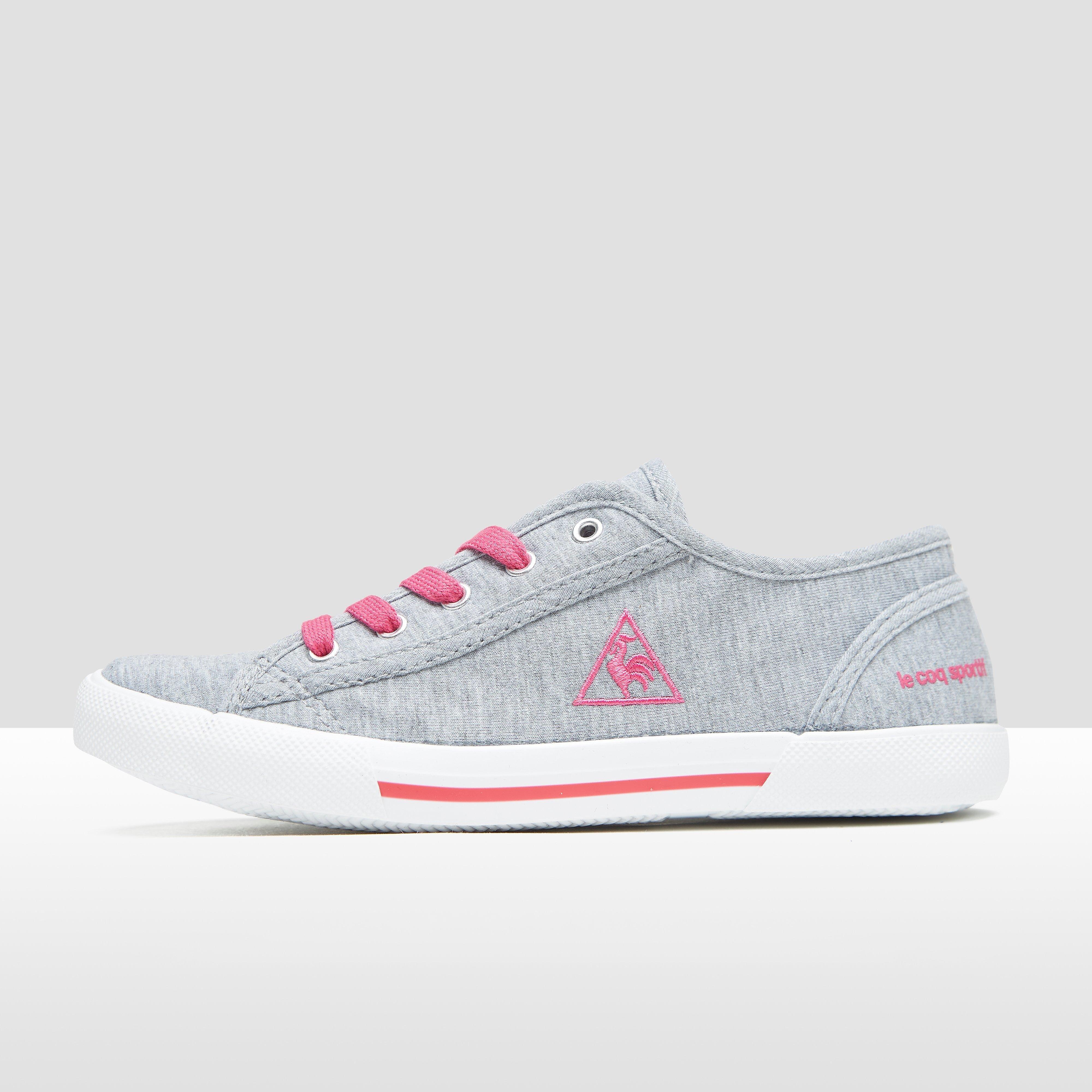 LE COQ SPORTIF Cerise low lace sneakers grijs/roze kinderen Kinderen
