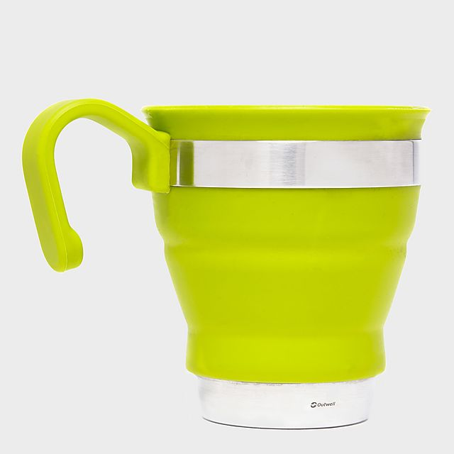 Outwell Collaps Mug - Lime, Lime