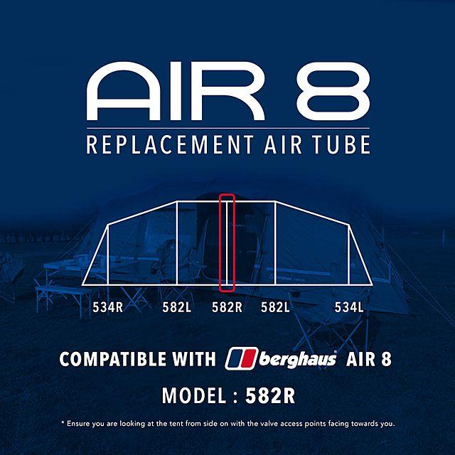 Berghaus Air 8 tent – replacement air tubes