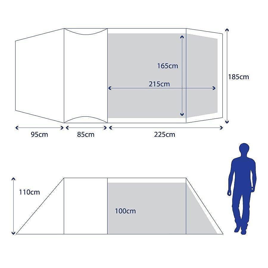 BERGHAUS Peak 3.3 Pro Tent