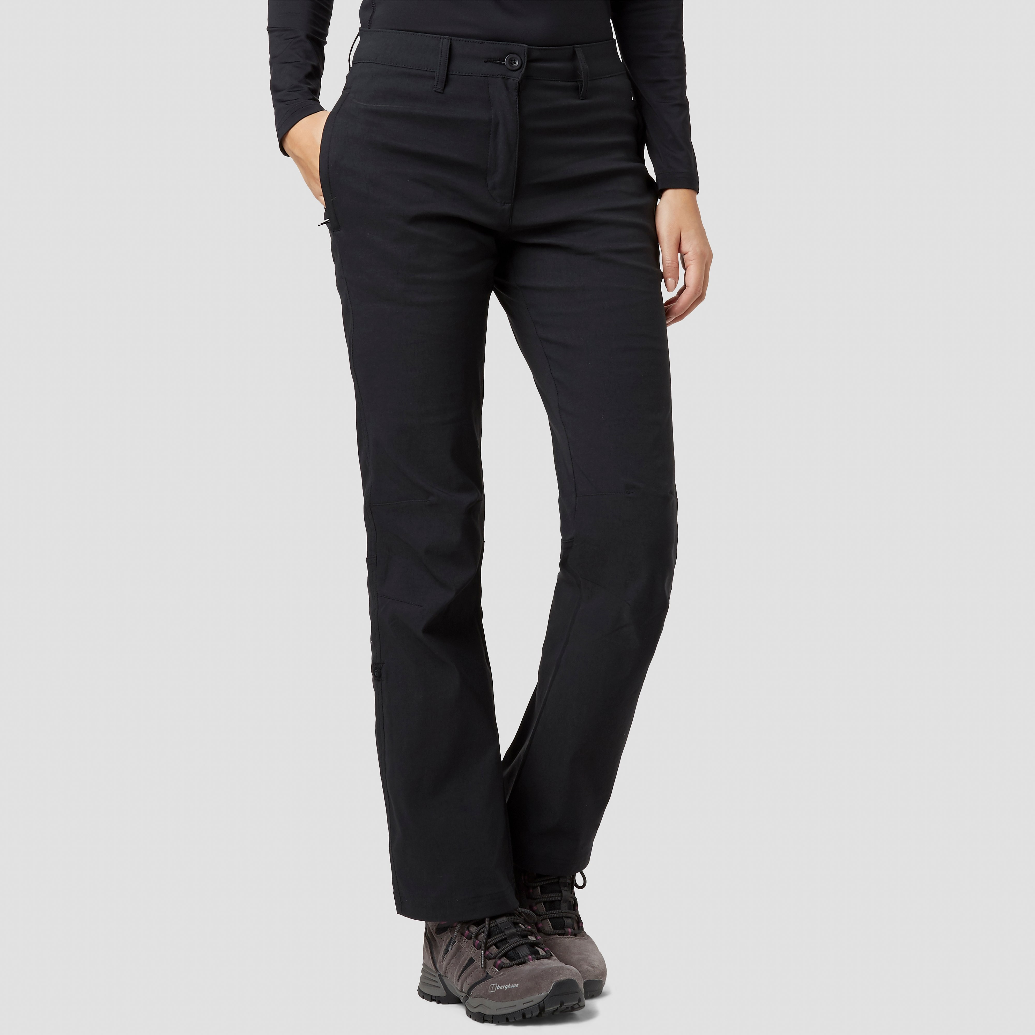 Peter Storm Women's Stretch Roll Up Trousers - Large