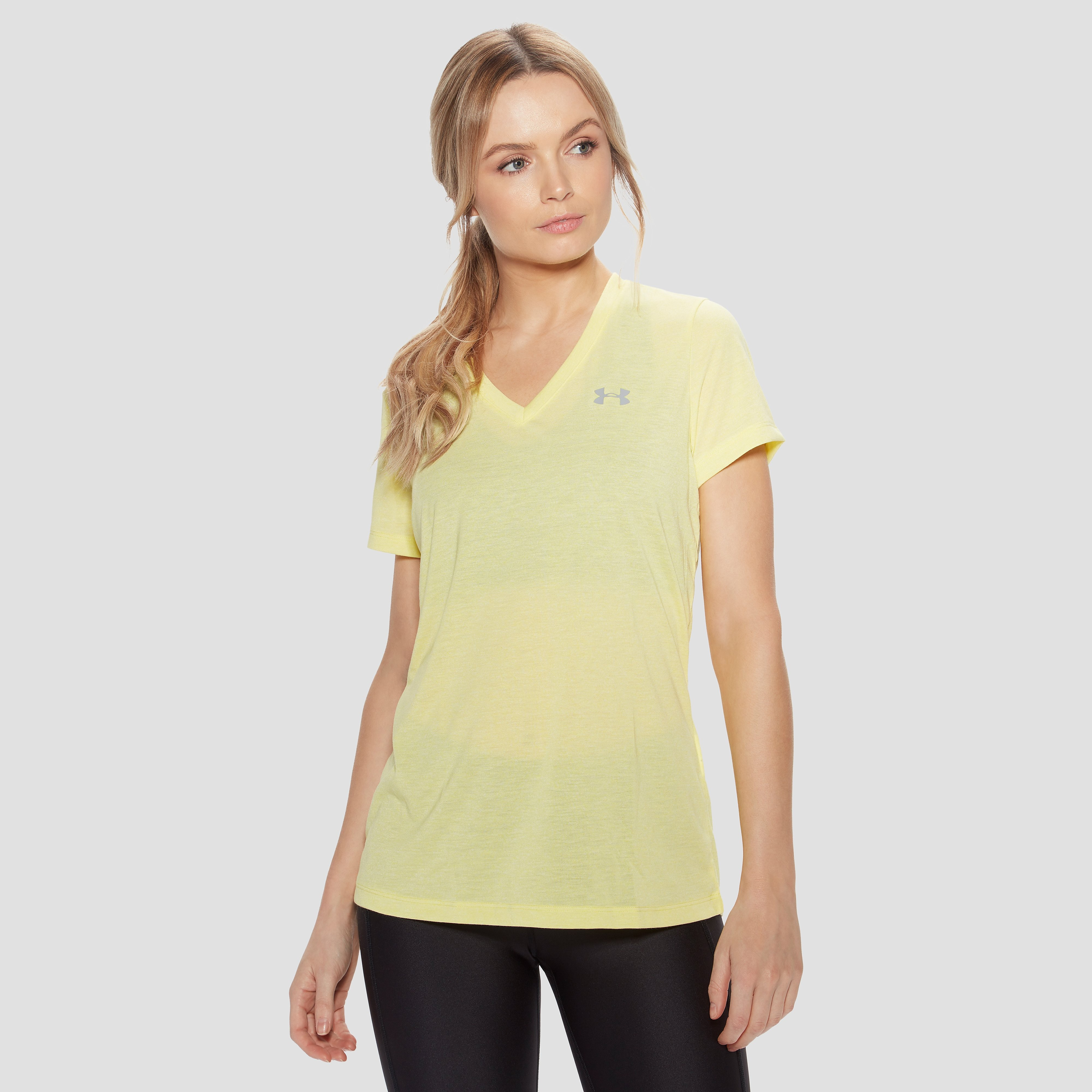 Under Armour Threadborne Short Sleeve V-Neck Women's Training Top