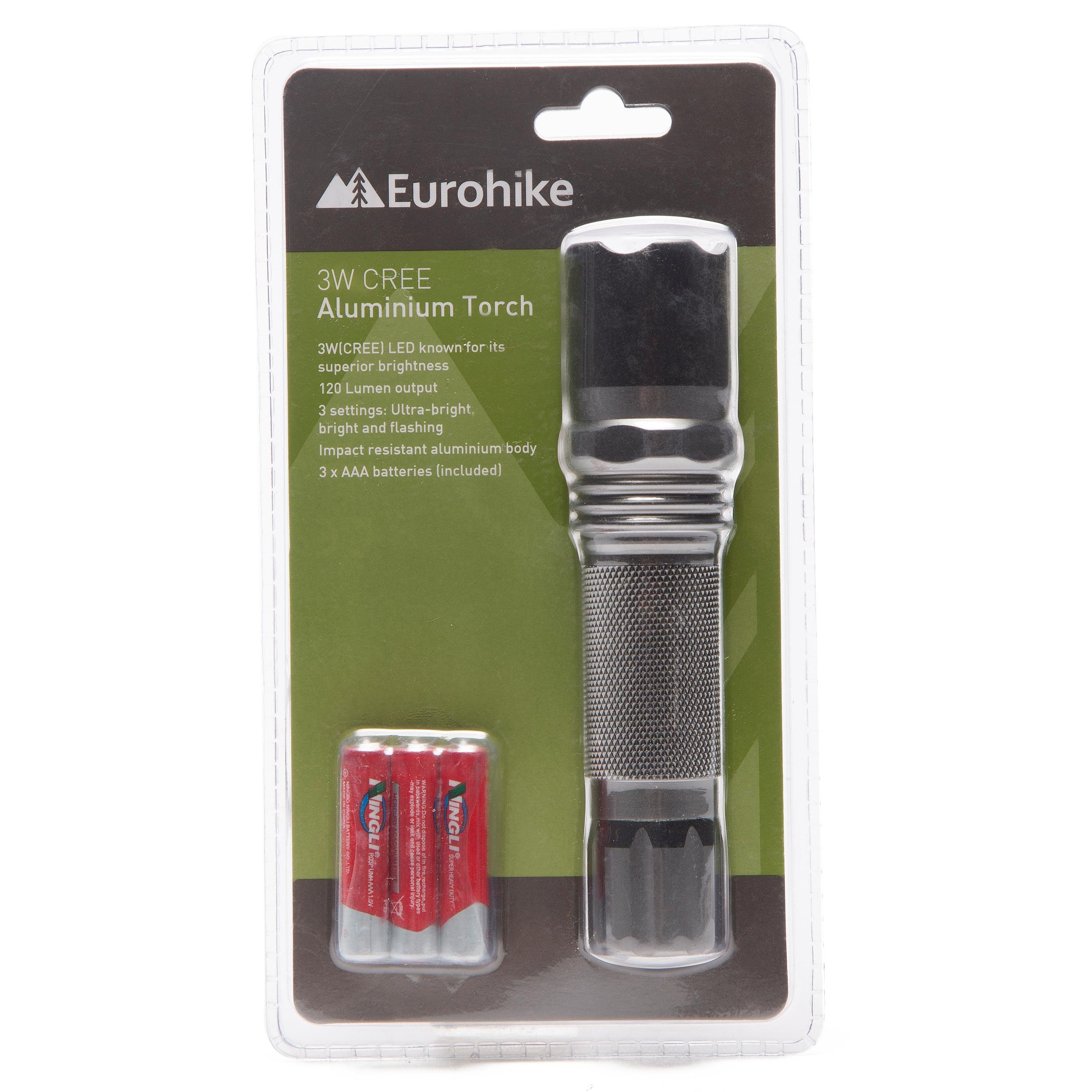 EUROHIKE EH 3W CREE TORCH
