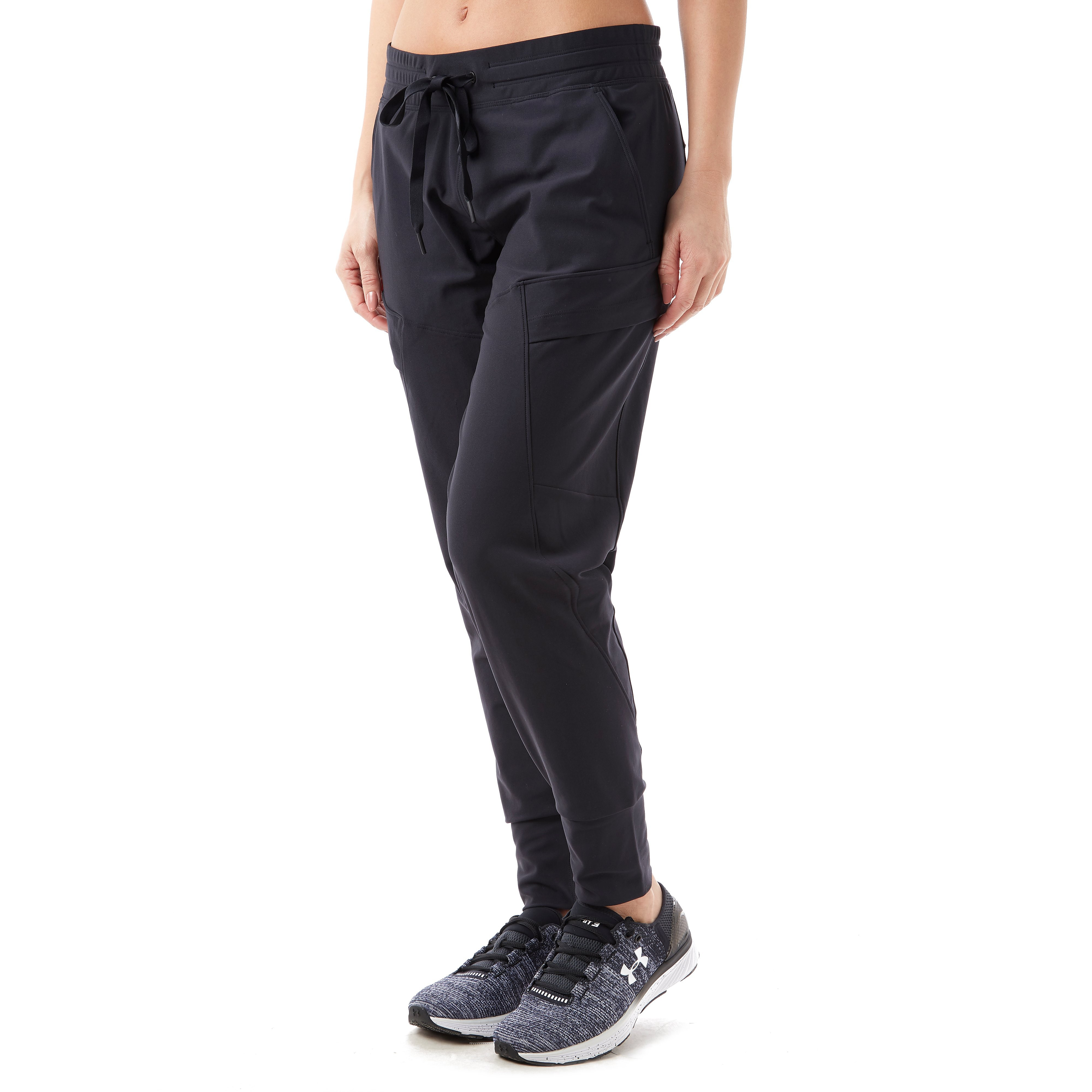 Women's Under Armour UA Perpetual Loose Training Pants - Black, Black