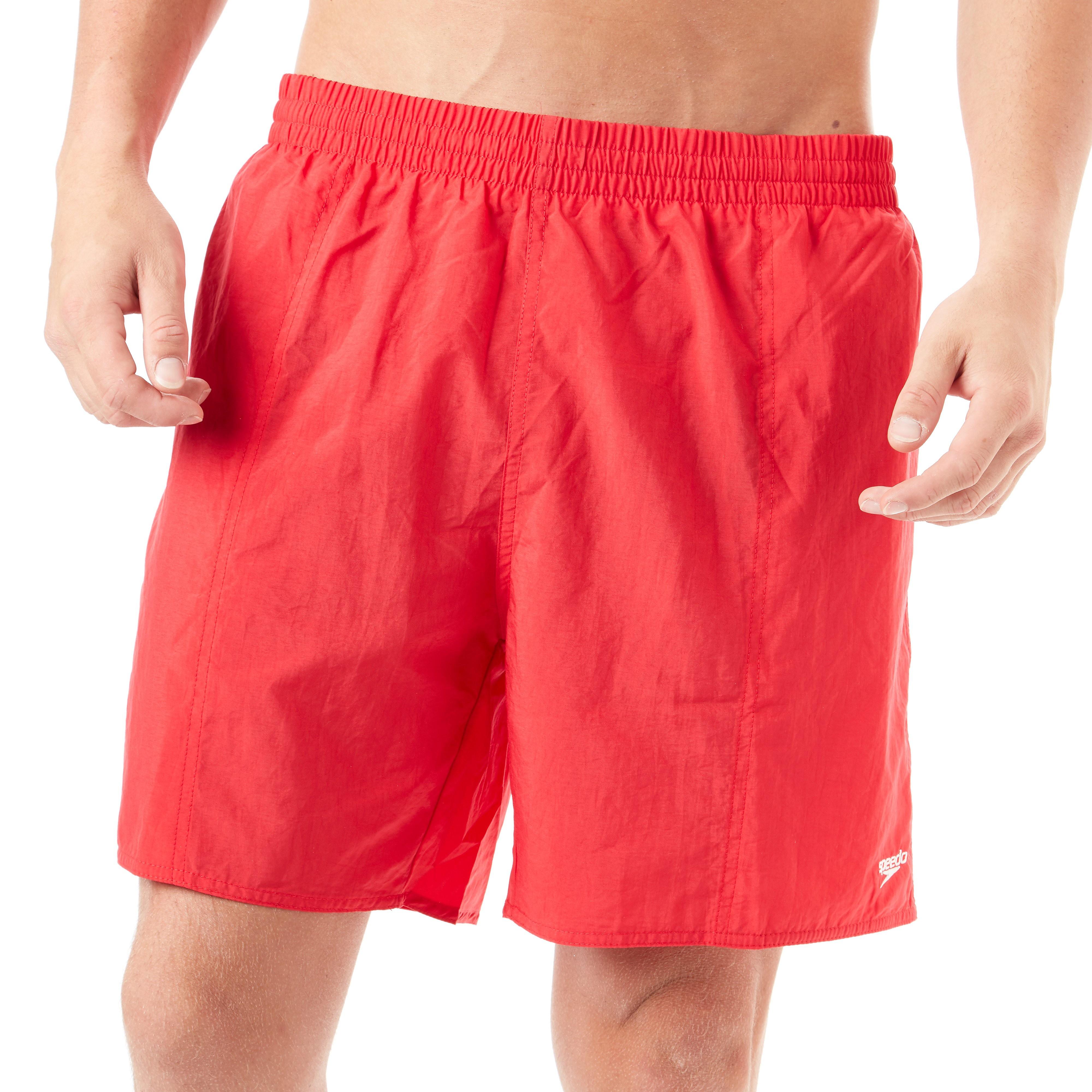 Speedo Solid Leisure 16 Inch Water Shorts