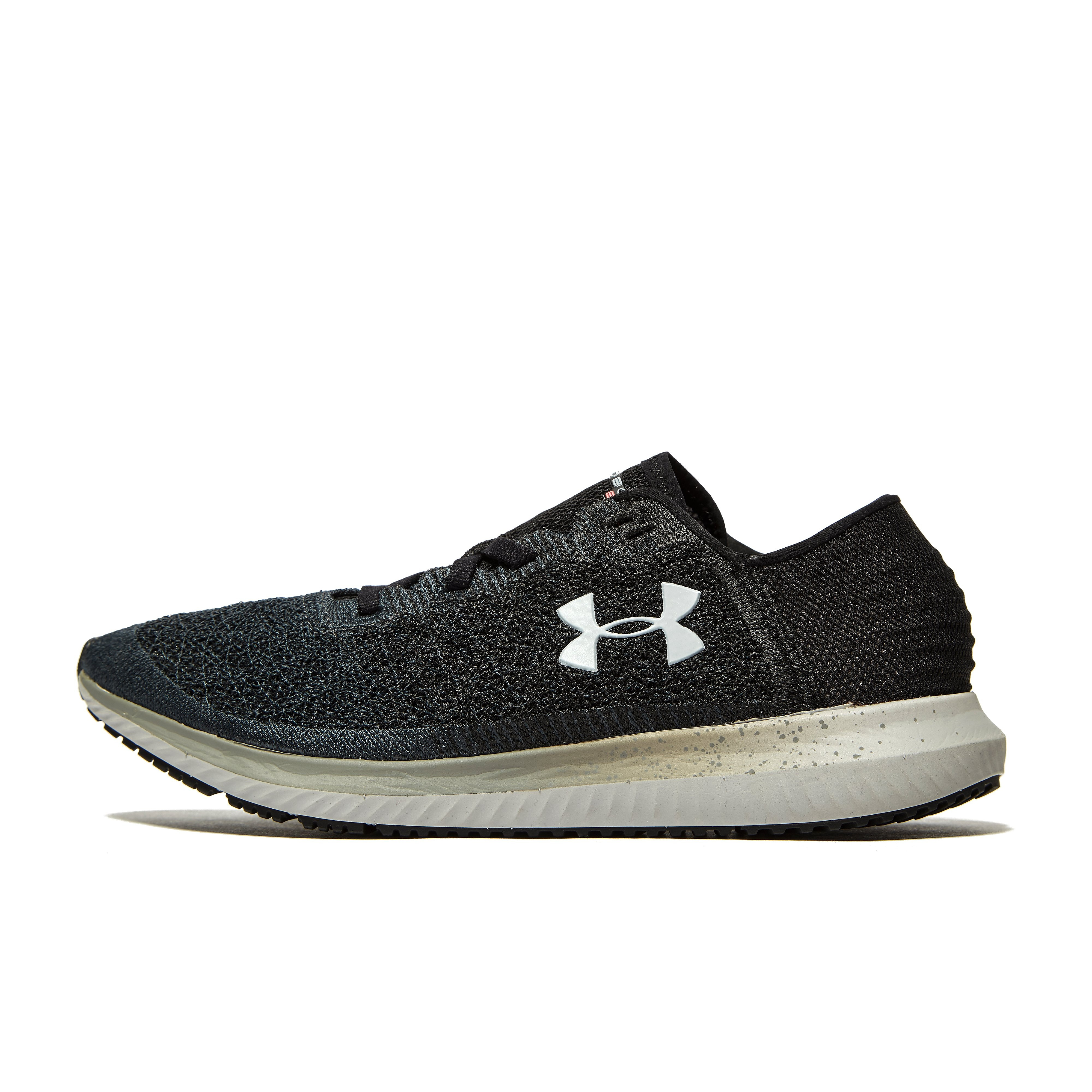 Women's Under Armour Threadborne Blur Running Shoes - Black, Black