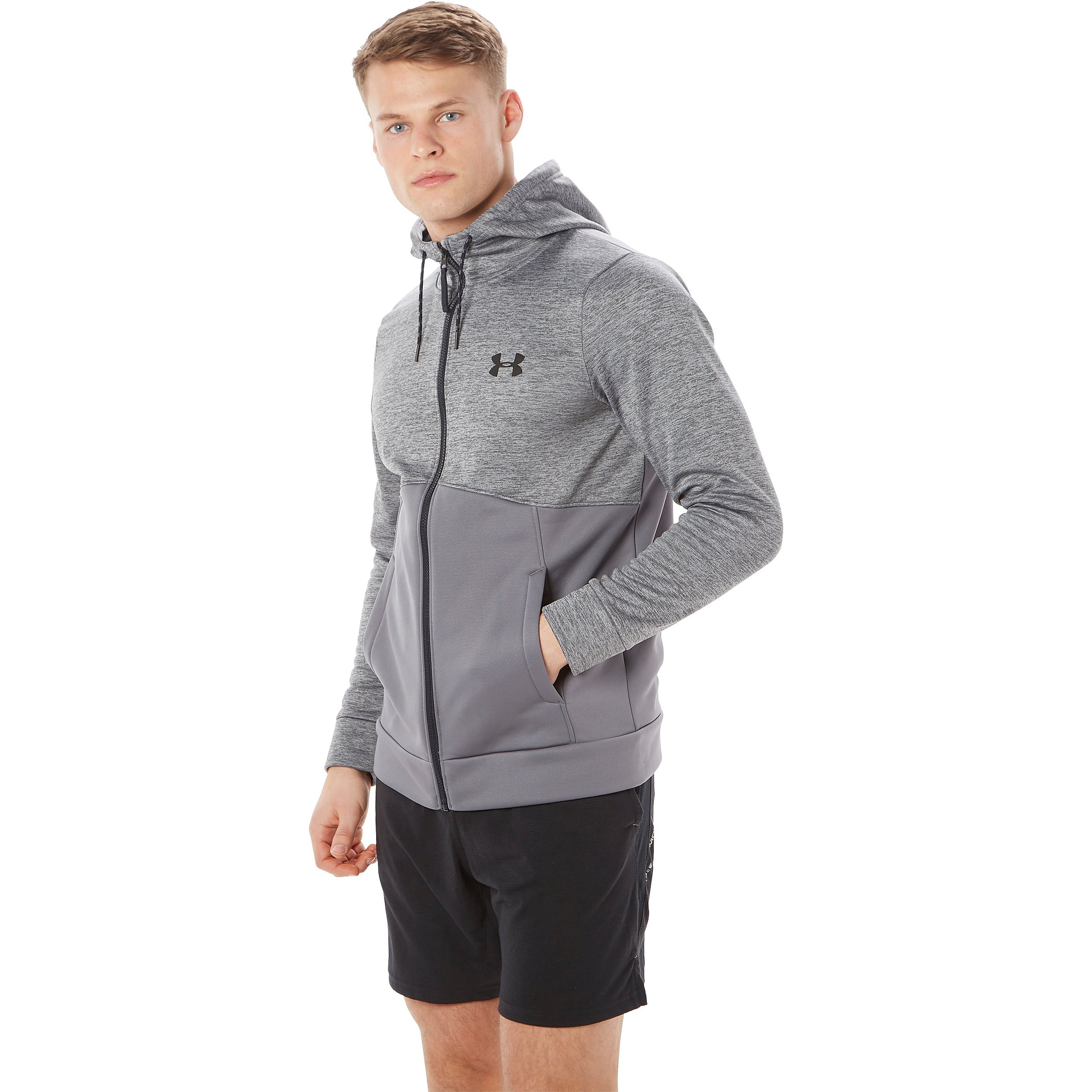 Under Armour Twist Poly Full Zip Hooded Men's Training Jacket