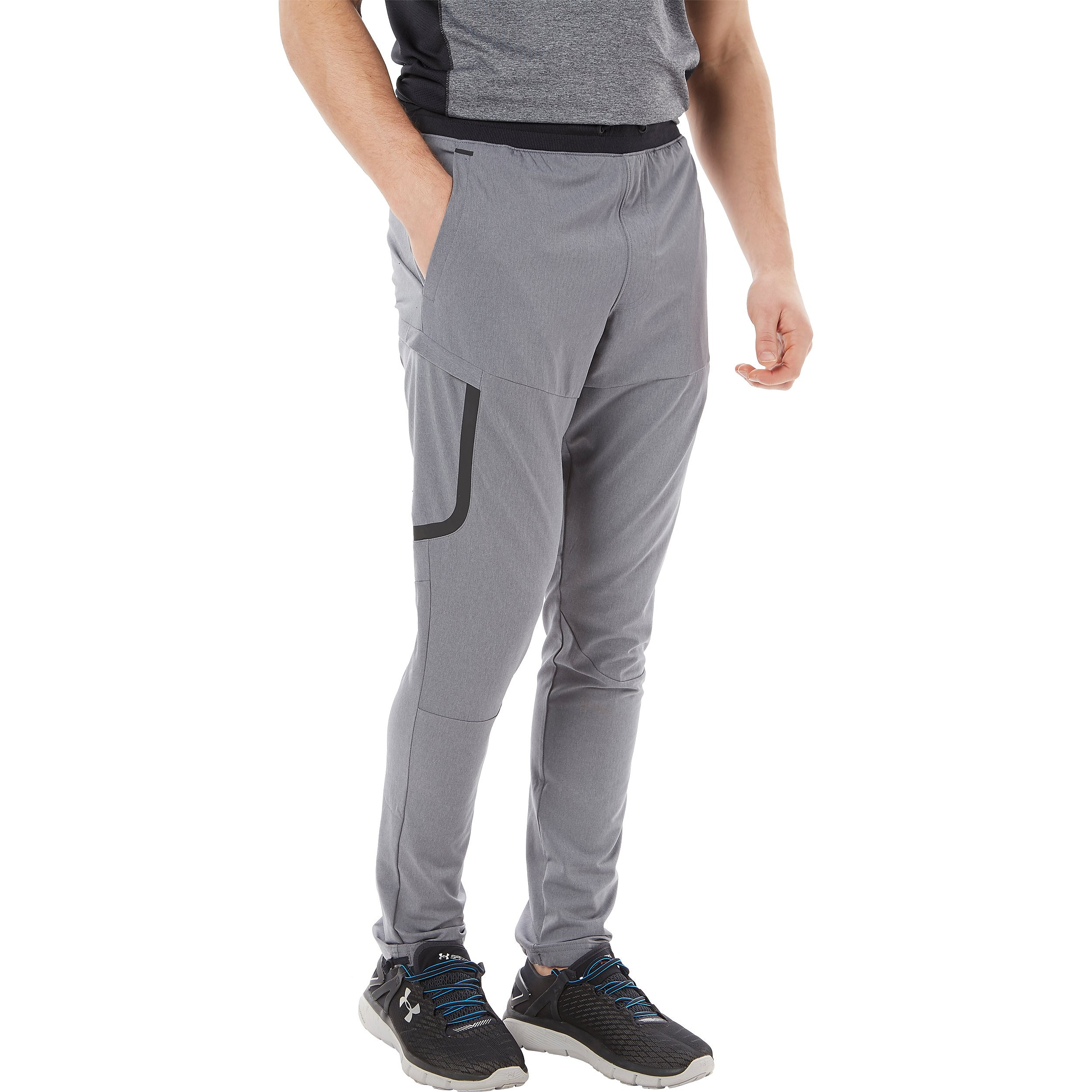 Men's Under Armour Sportstyle Elite Cargo Training Trousers - Grey/Black, Grey/Black